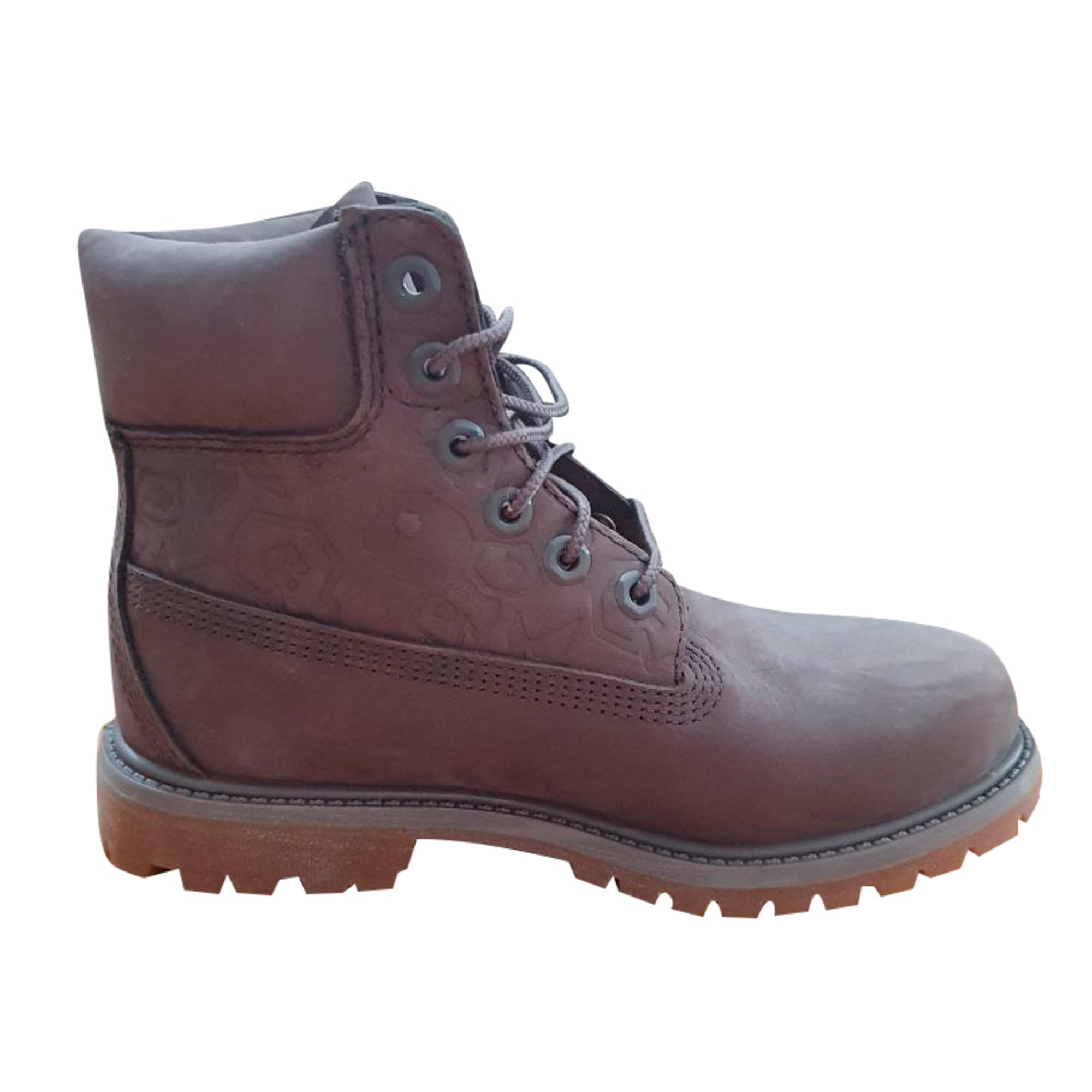 Santiags, bottines, low boots cowboy TIMBERLAND Gris, anthracite