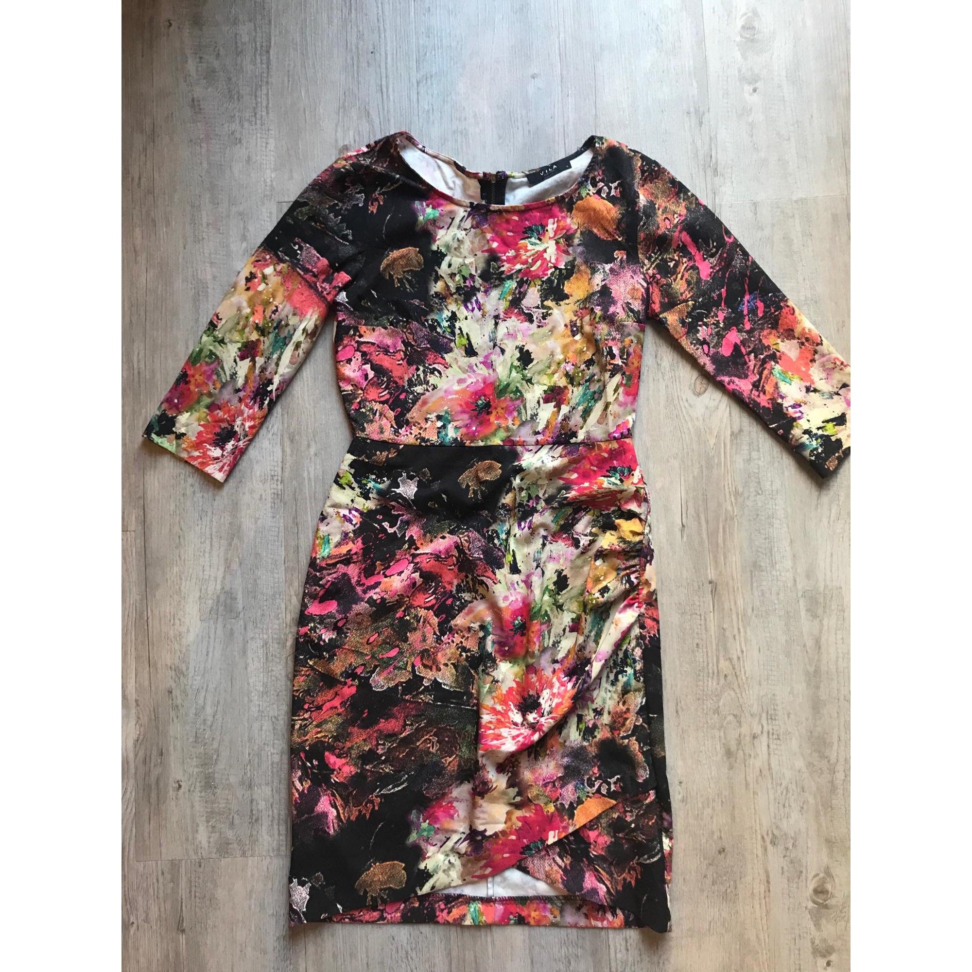 Robe courte VILA Multicouleur