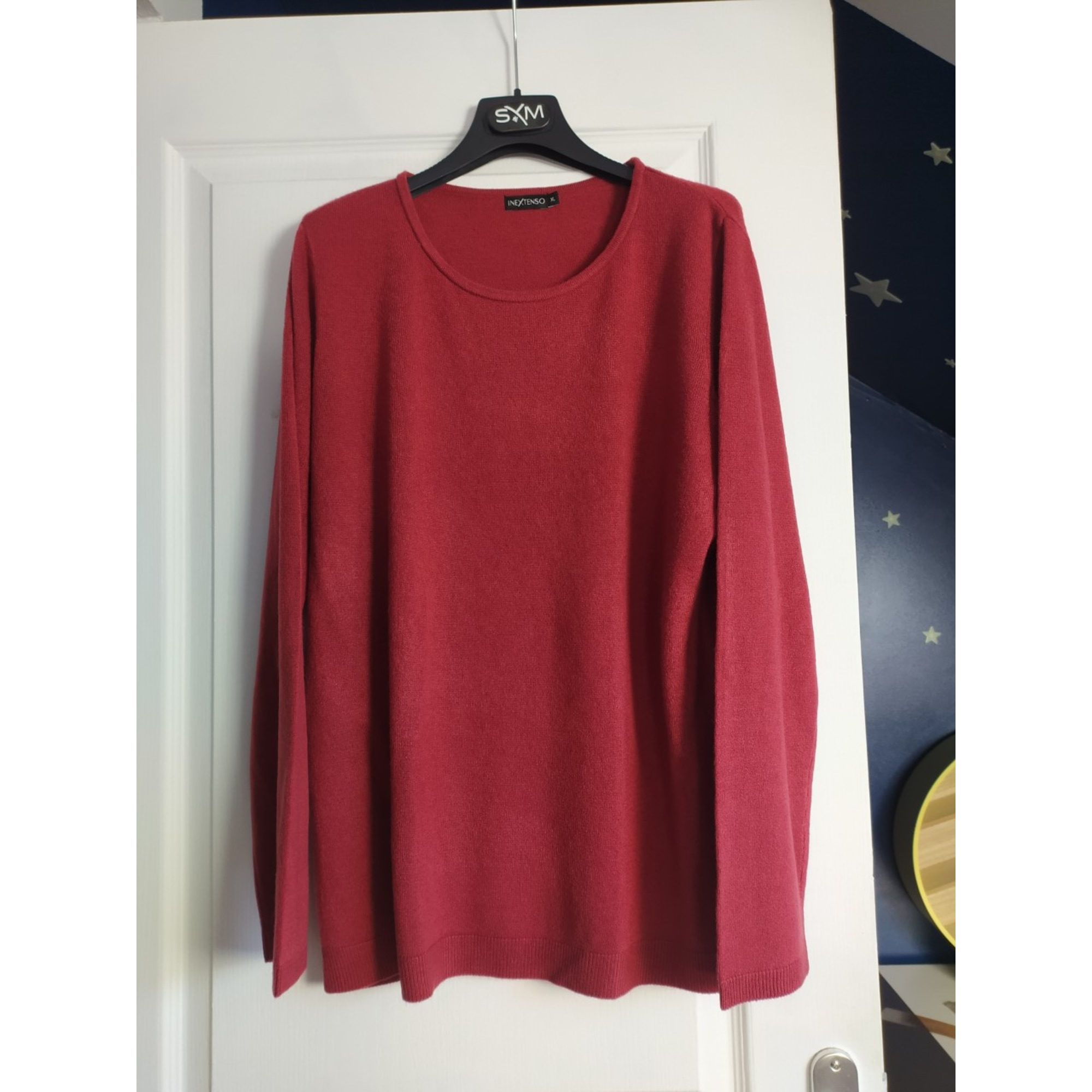 Pull IN EXTENSO Rouge, bordeaux