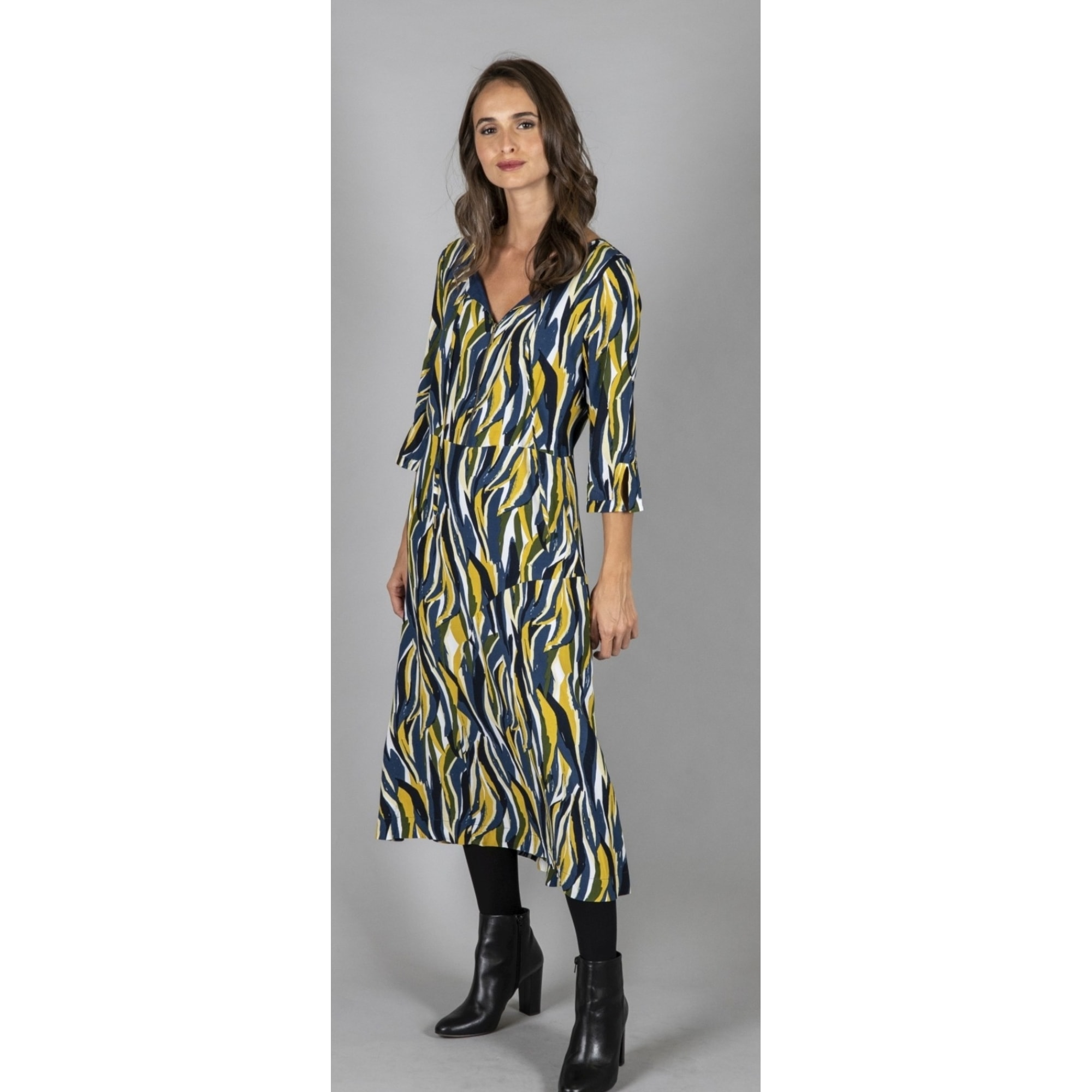 Robe longue CAPTAIN TORTUE Multicouleur