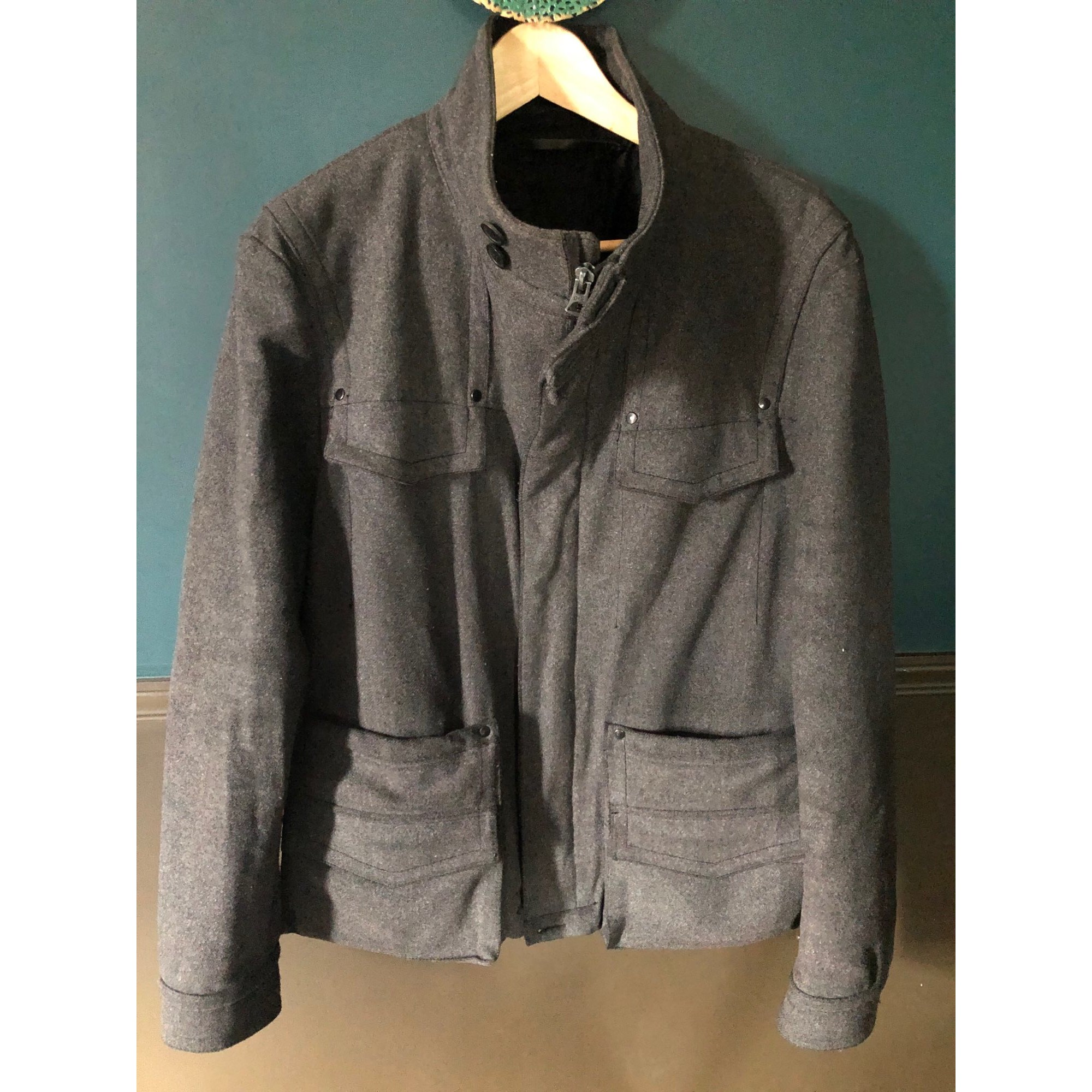 Manteau GIVENCHY Gris, anthracite