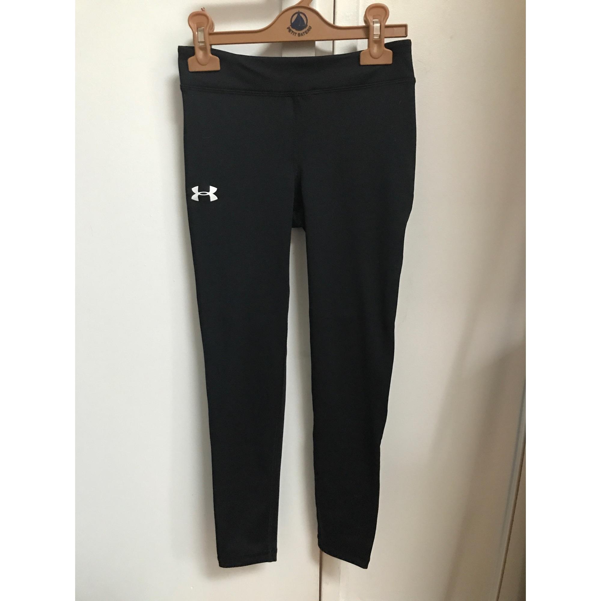 Pantalon de fitness UNDER ARMOUR Noir