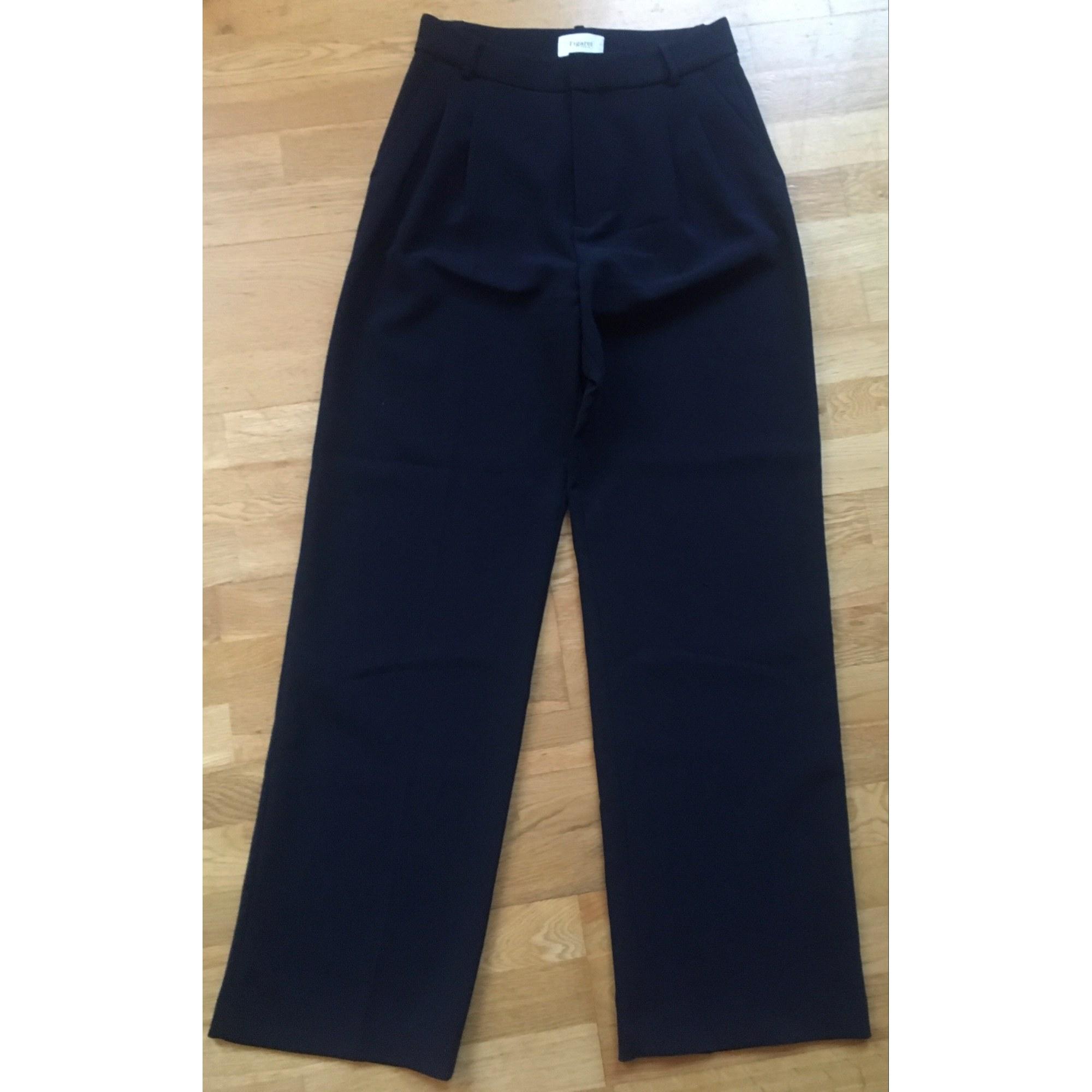 Pantalon large ALAIN FIGARET Bleu, bleu marine, bleu turquoise