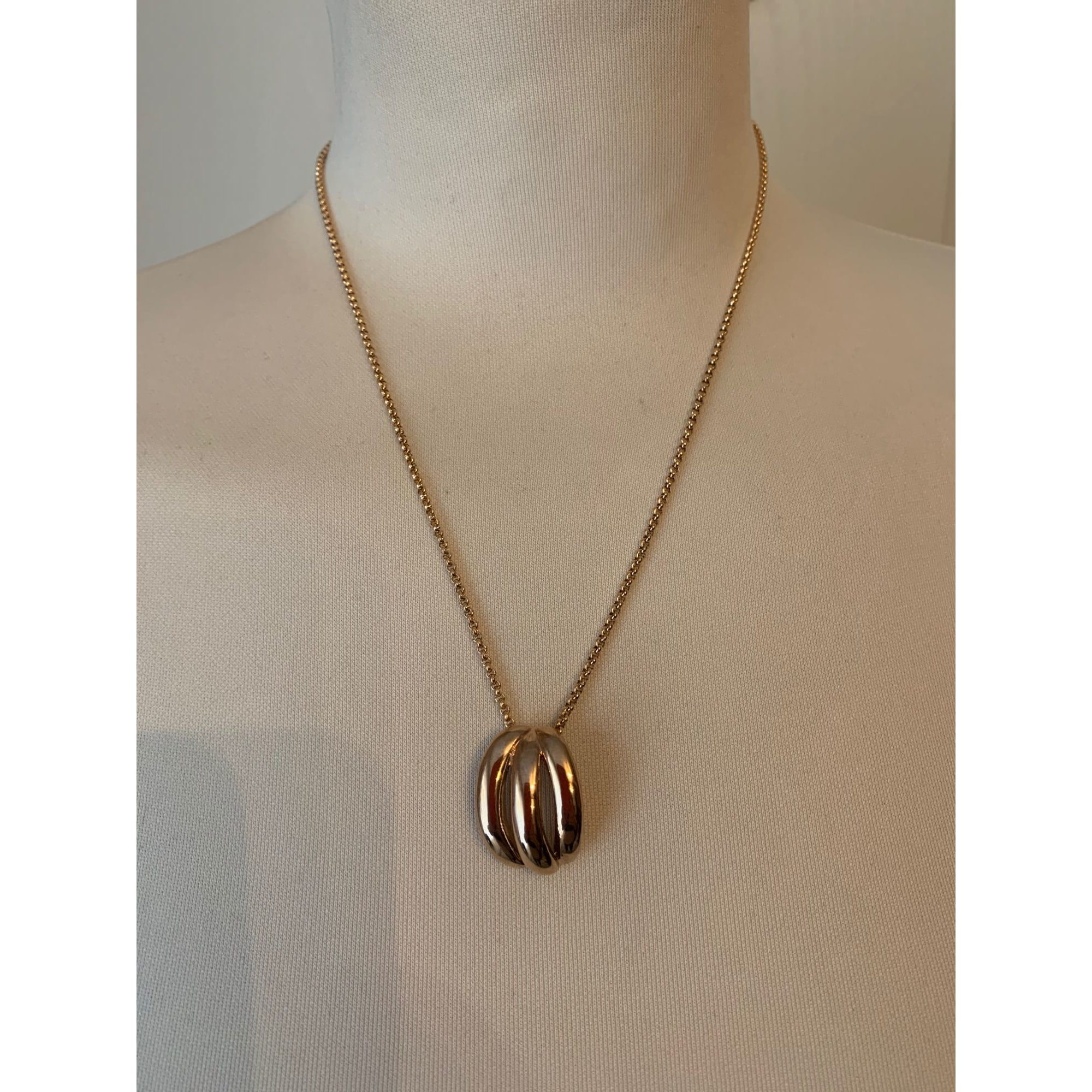 Pendentif, collier pendentif VICTORIA Doré, bronze, cuivre