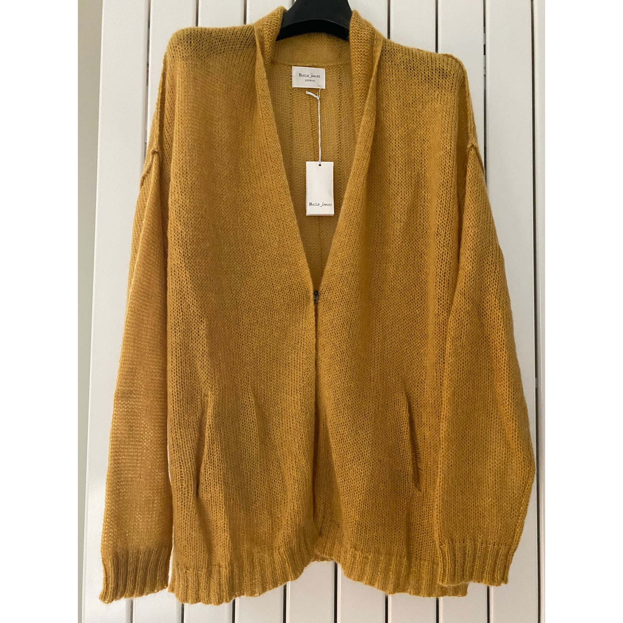 Gilet, cardigan BELLA JONES Jaune