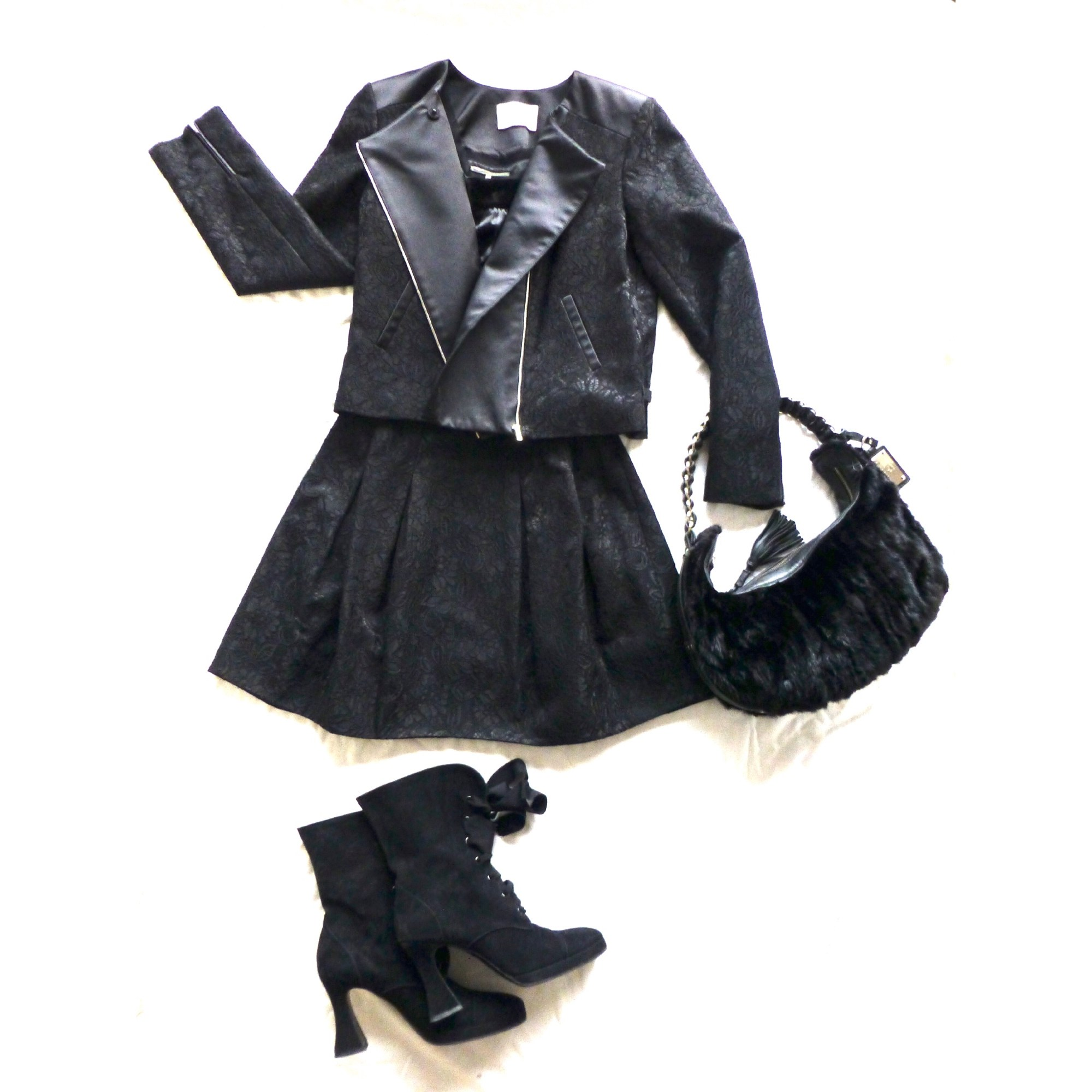 Tailleur jupe CLAUDIE PIERLOT Noir