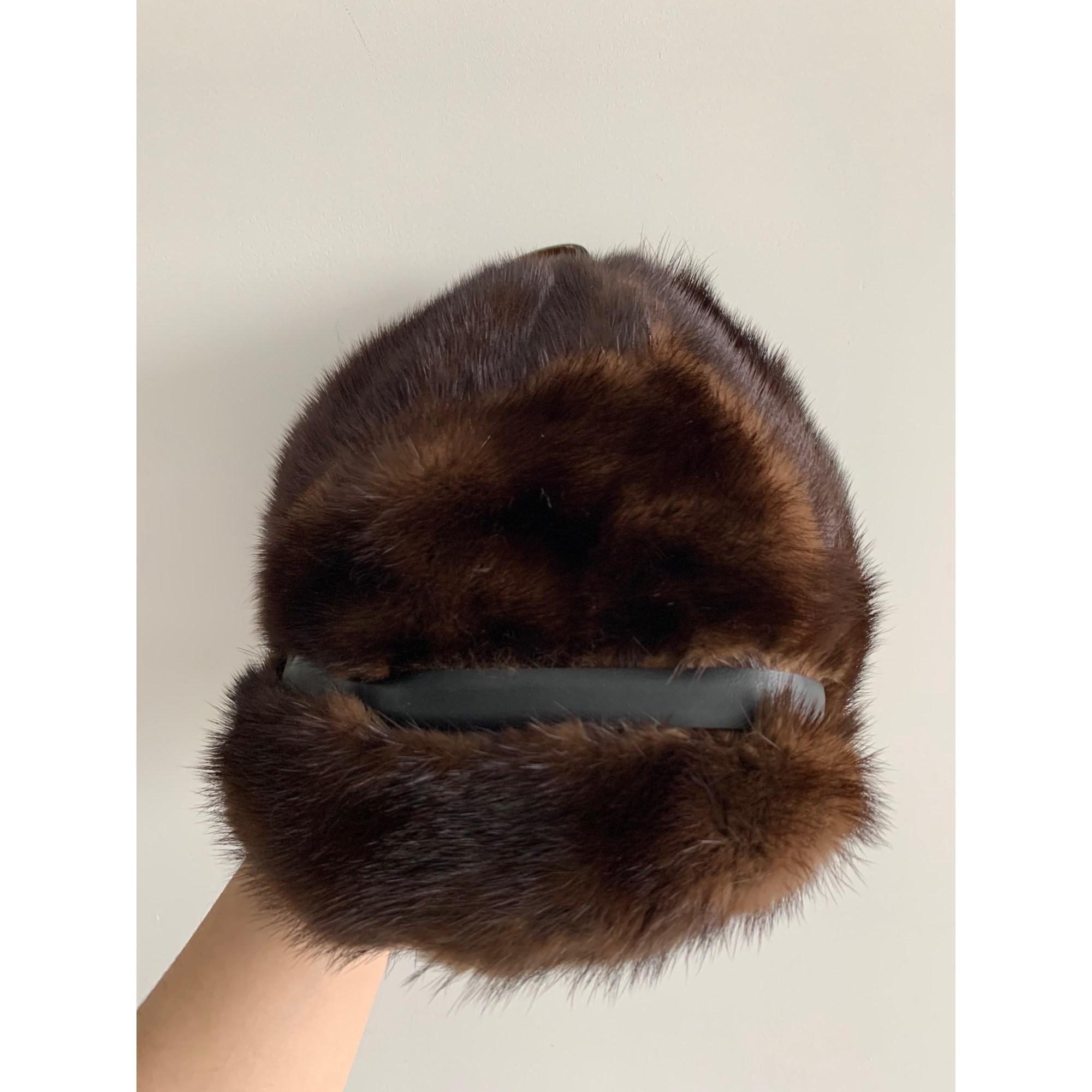 Bonnet DELL PARIS Marron