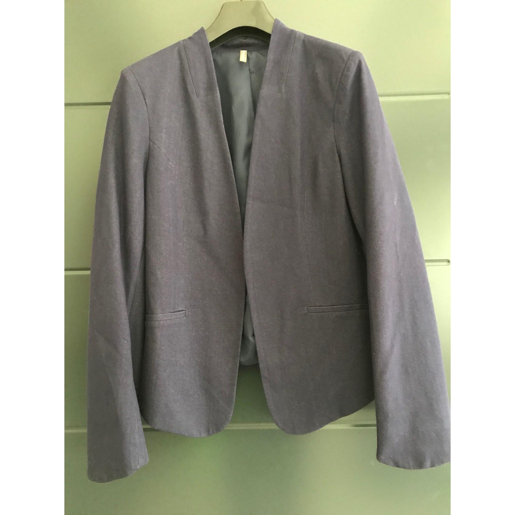 Blazer, veste tailleur NAF NAF Bleu, bleu marine, bleu turquoise