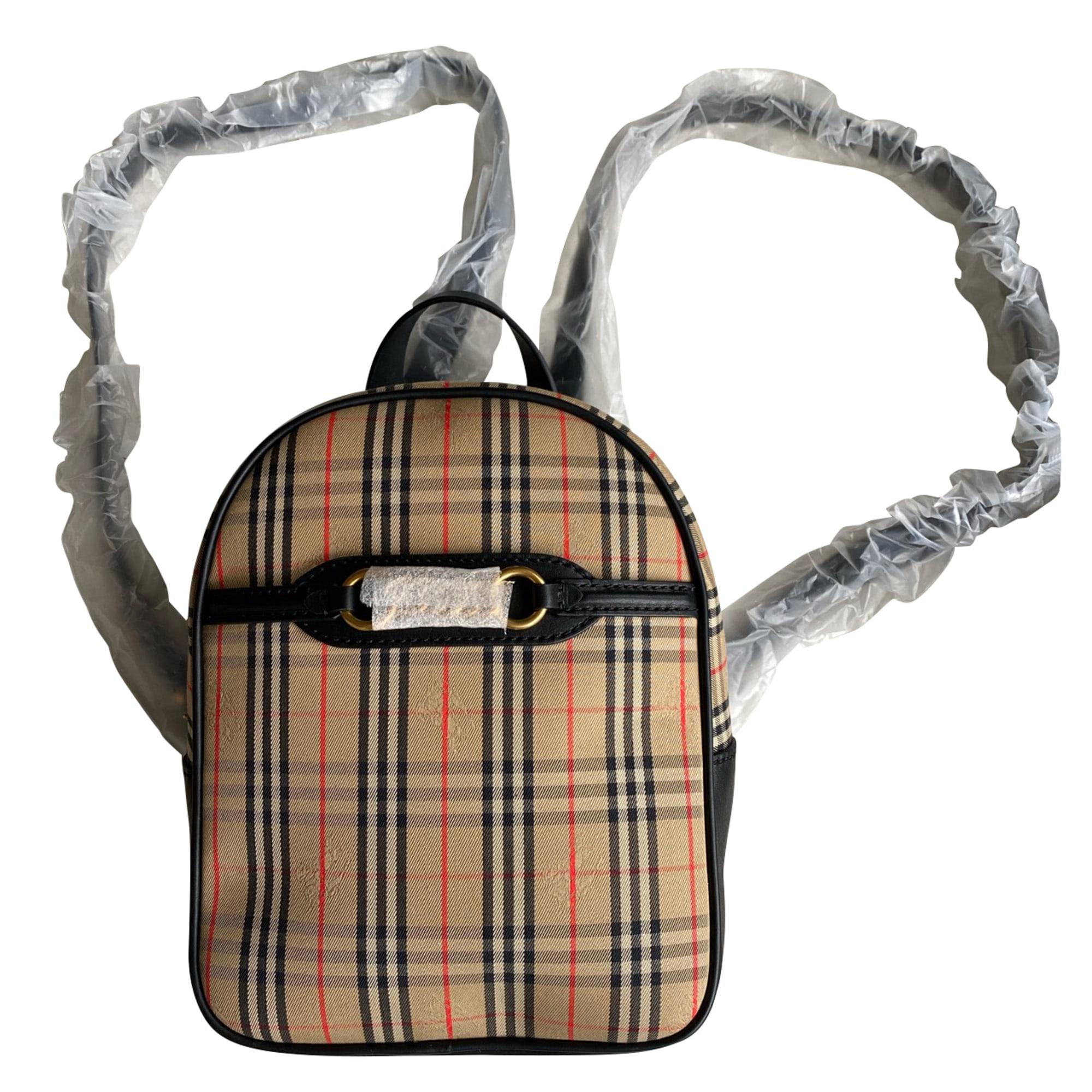 Backpack BURBERRY Beige, camel