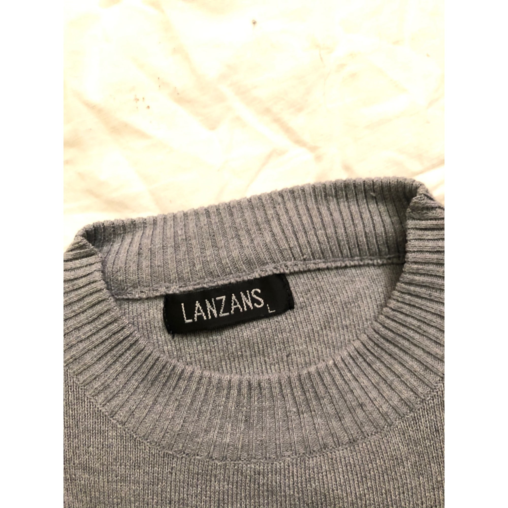 Pull LANZANS Gris, anthracite