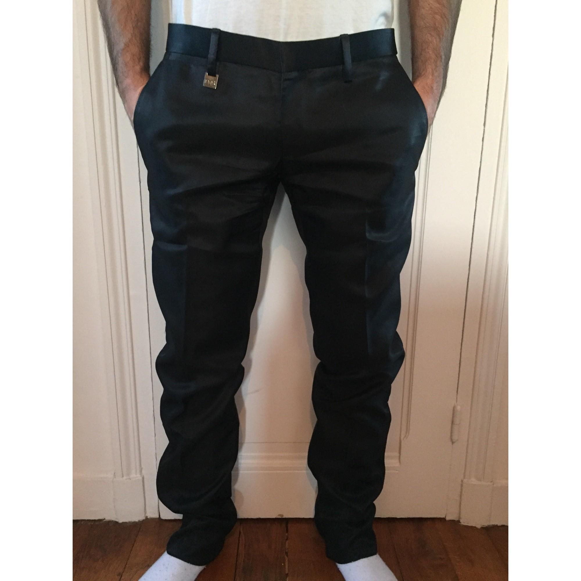 Pantalon droit D&G Noir