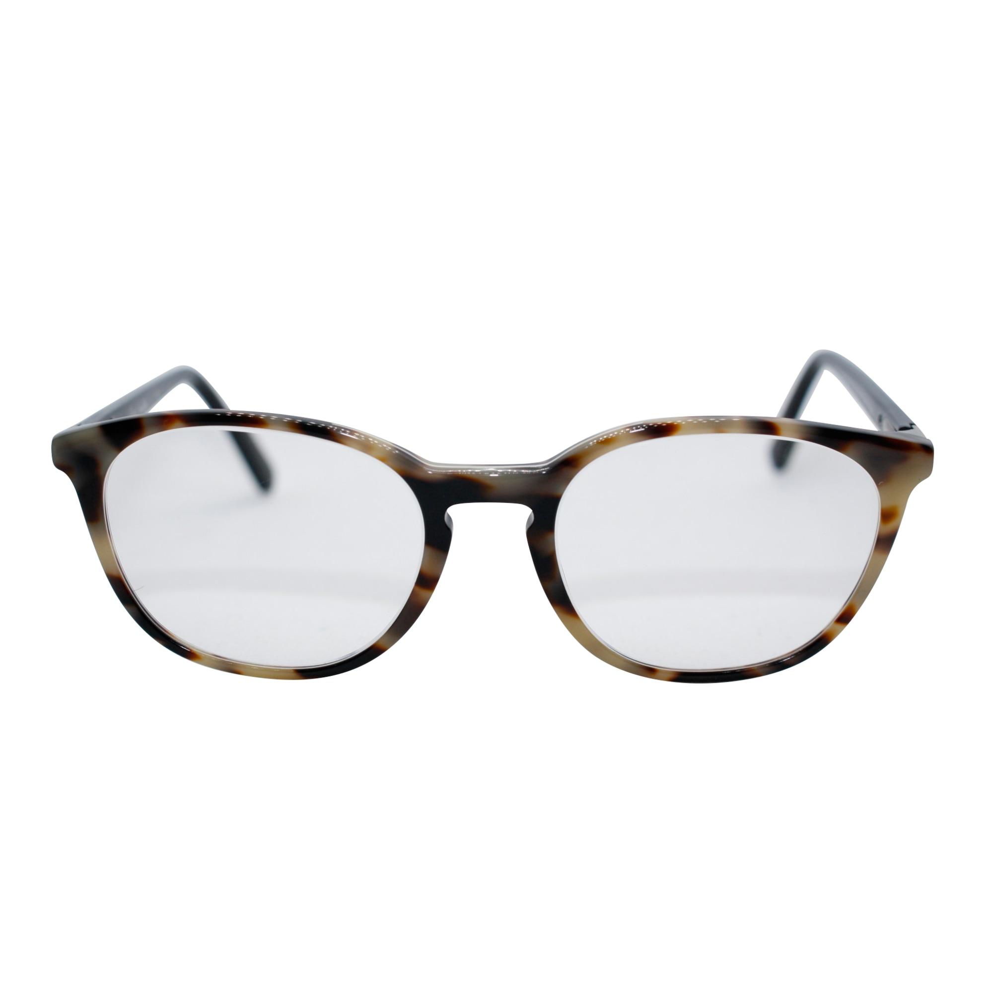 Eyeglass Frames MAUBOUSSIN Noir intense et pièce en nacre blanc perle