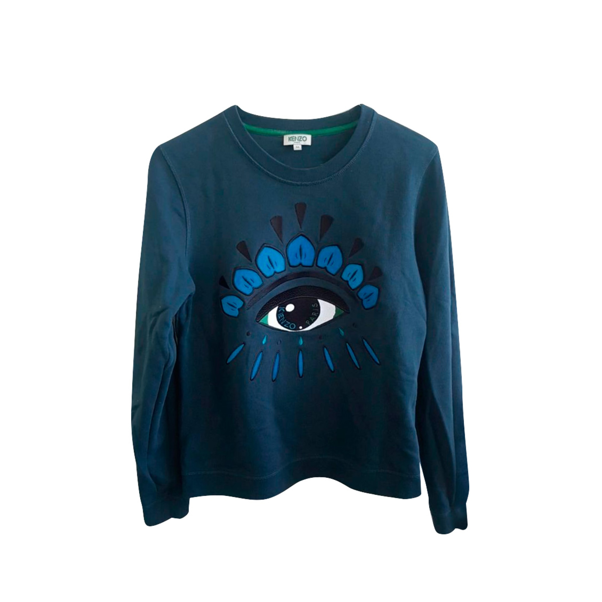 Sweat KENZO Bleu, bleu marine, bleu turquoise