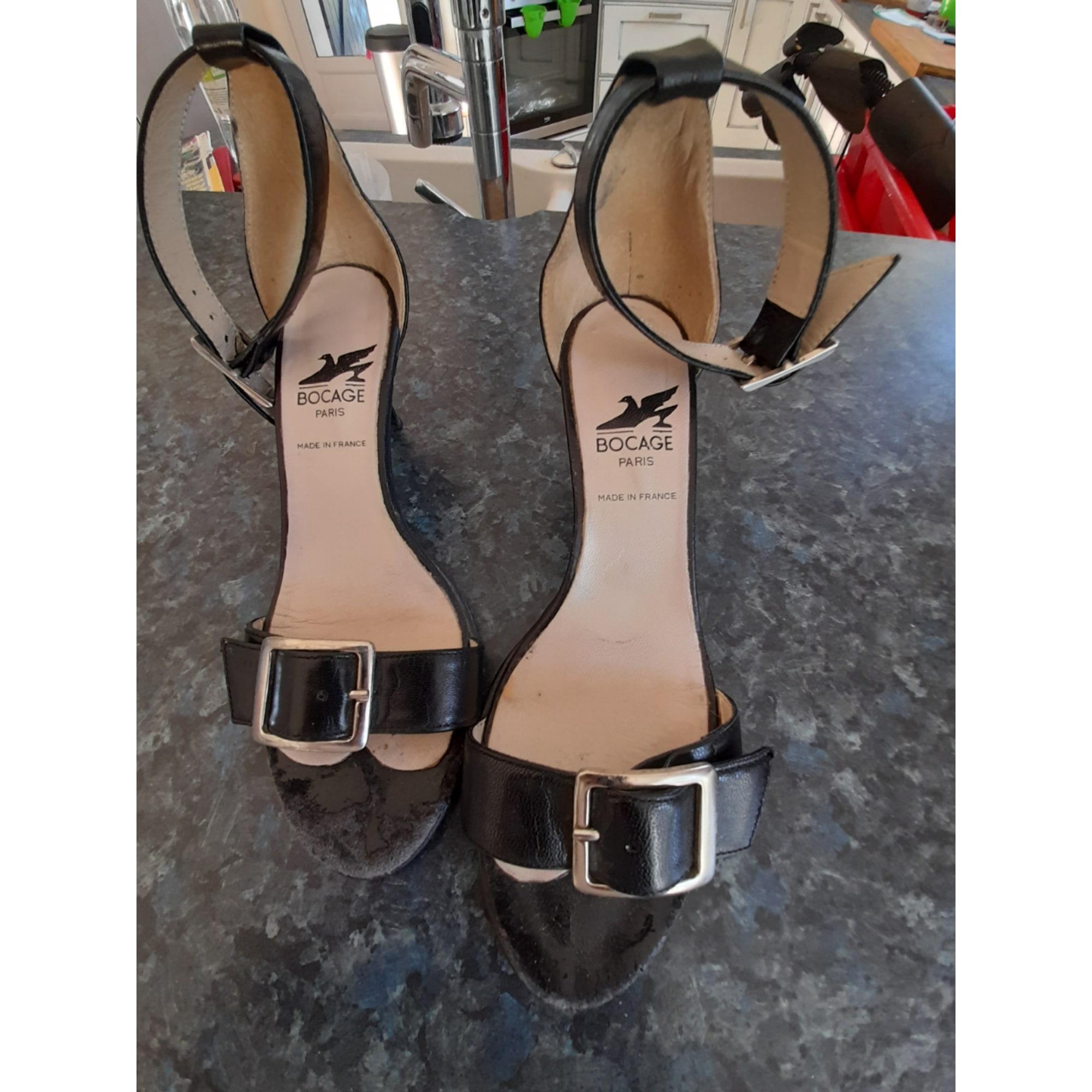 Sandales à talons BOCAGE Noir