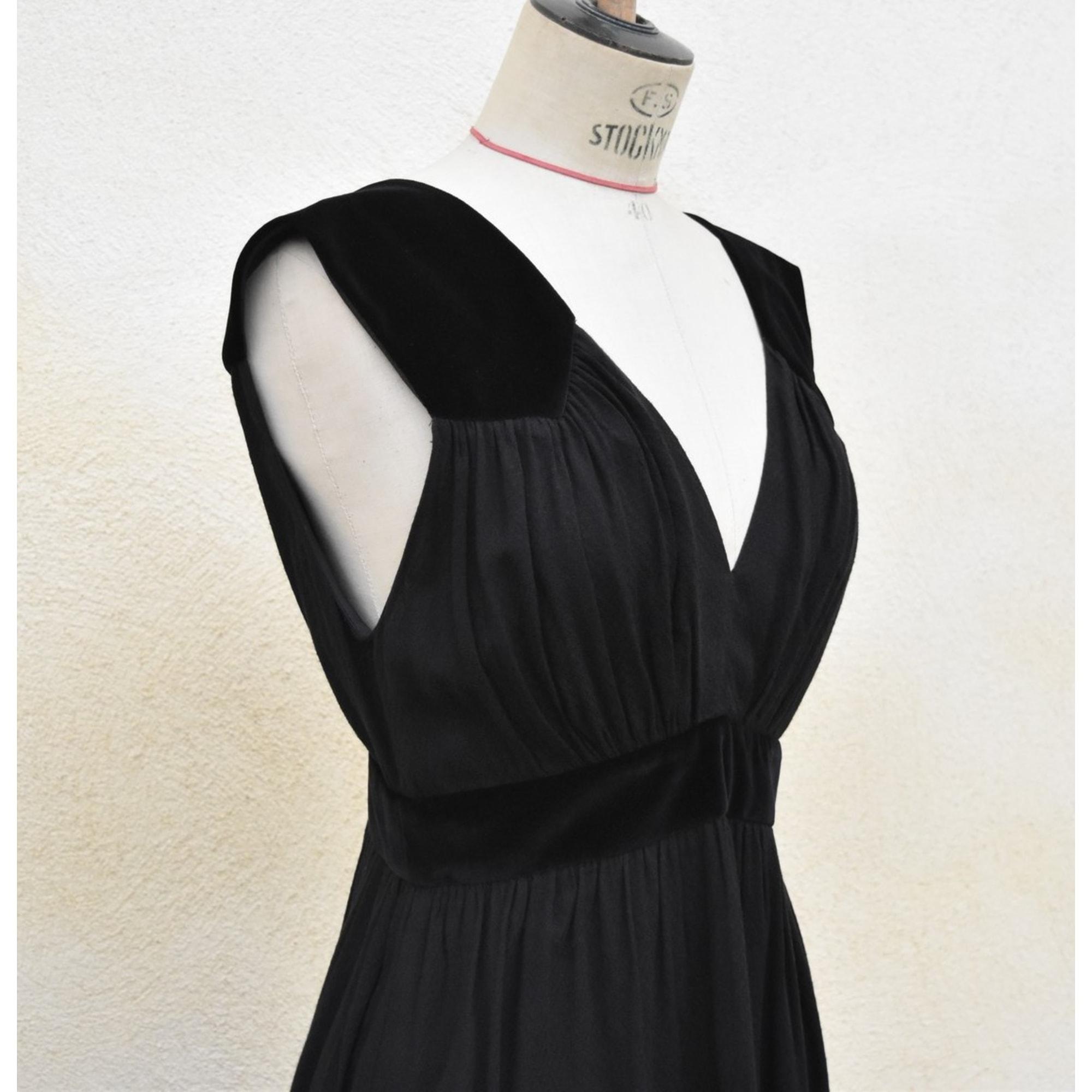 Robe longue MAJE Noir