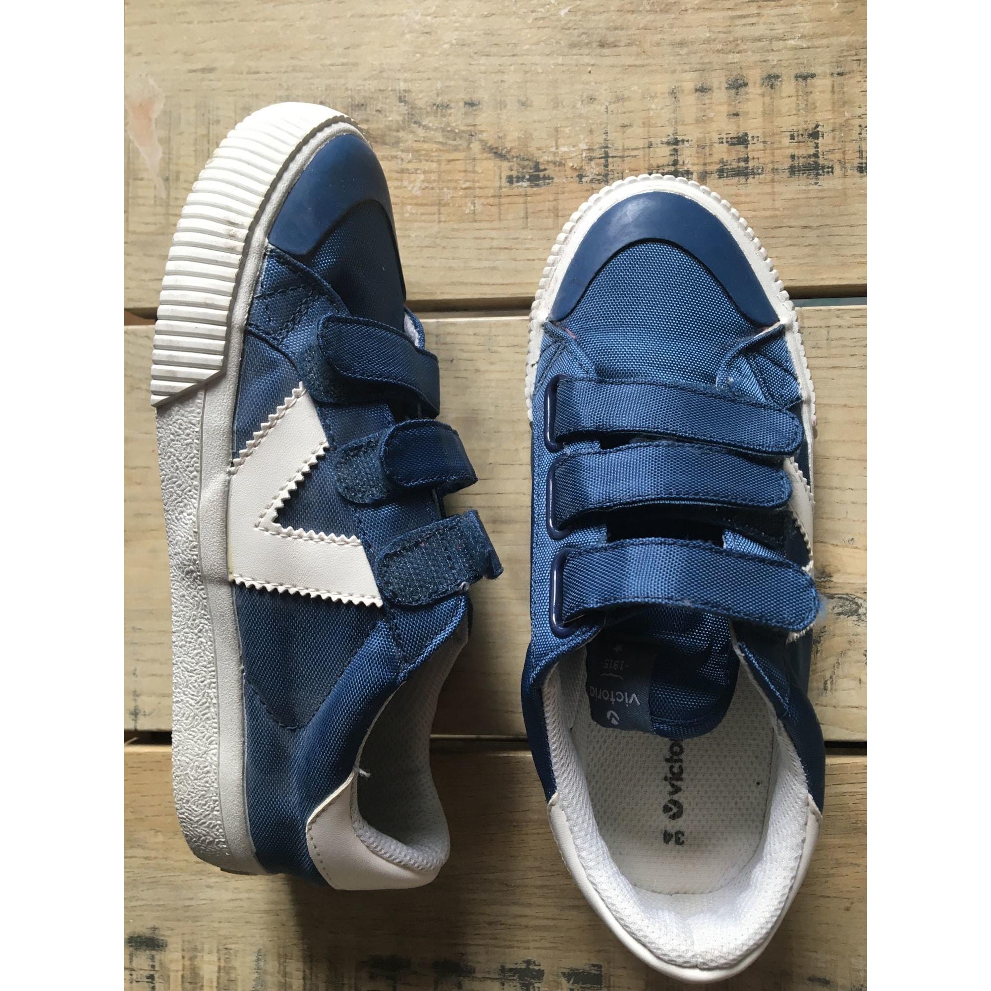 Baskets VICTORIA Bleu, bleu marine, bleu turquoise