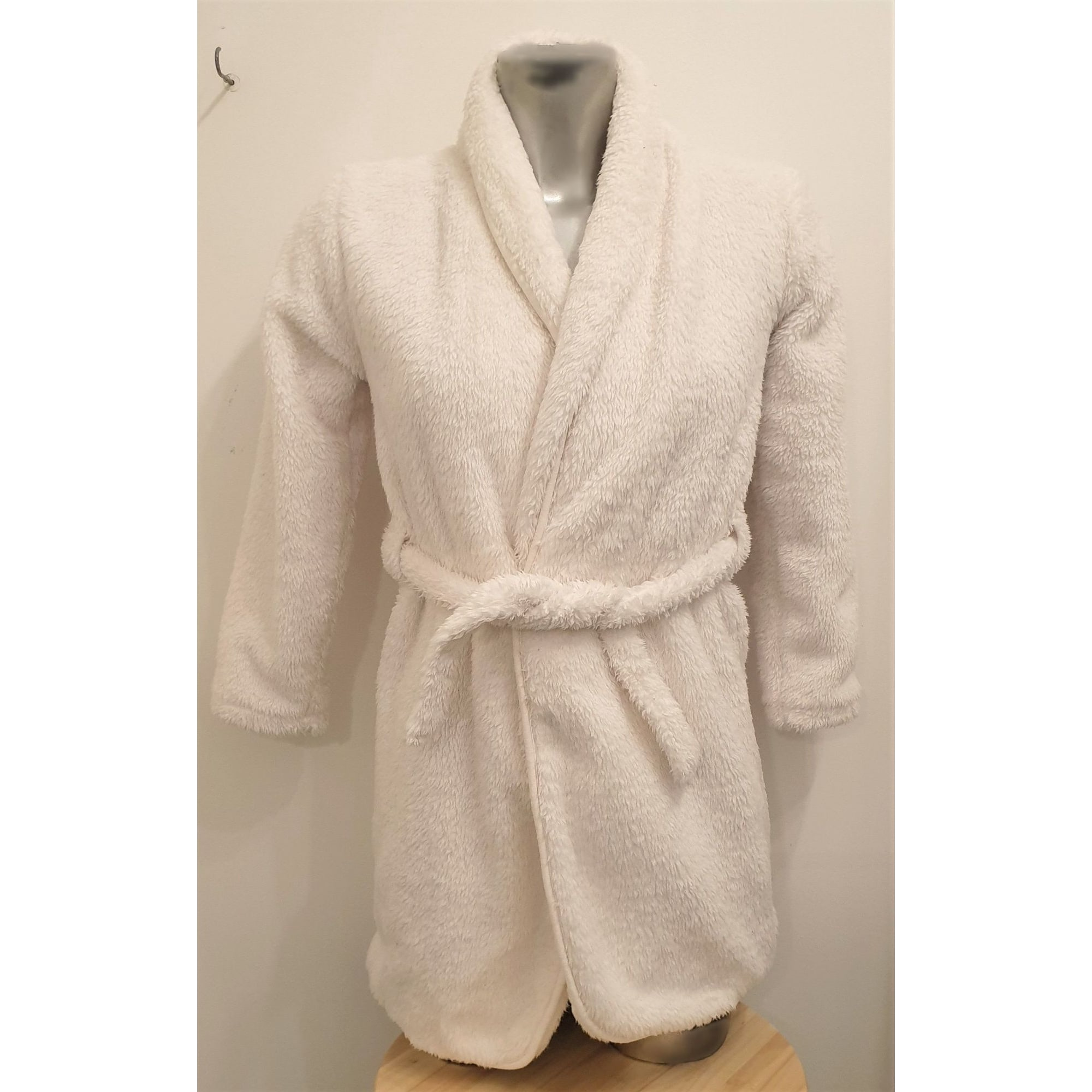 Robe de chambre ORCHESTRA Blanc, blanc cassé, écru