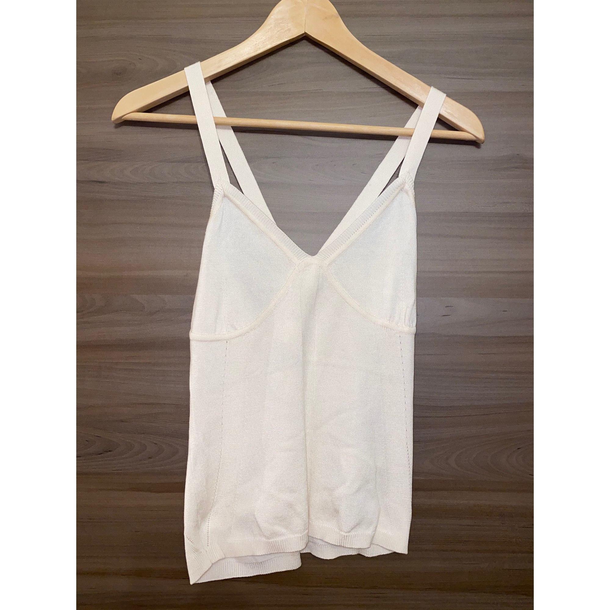 Top, tee-shirt MAX MARA Blanc, blanc cassé, écru