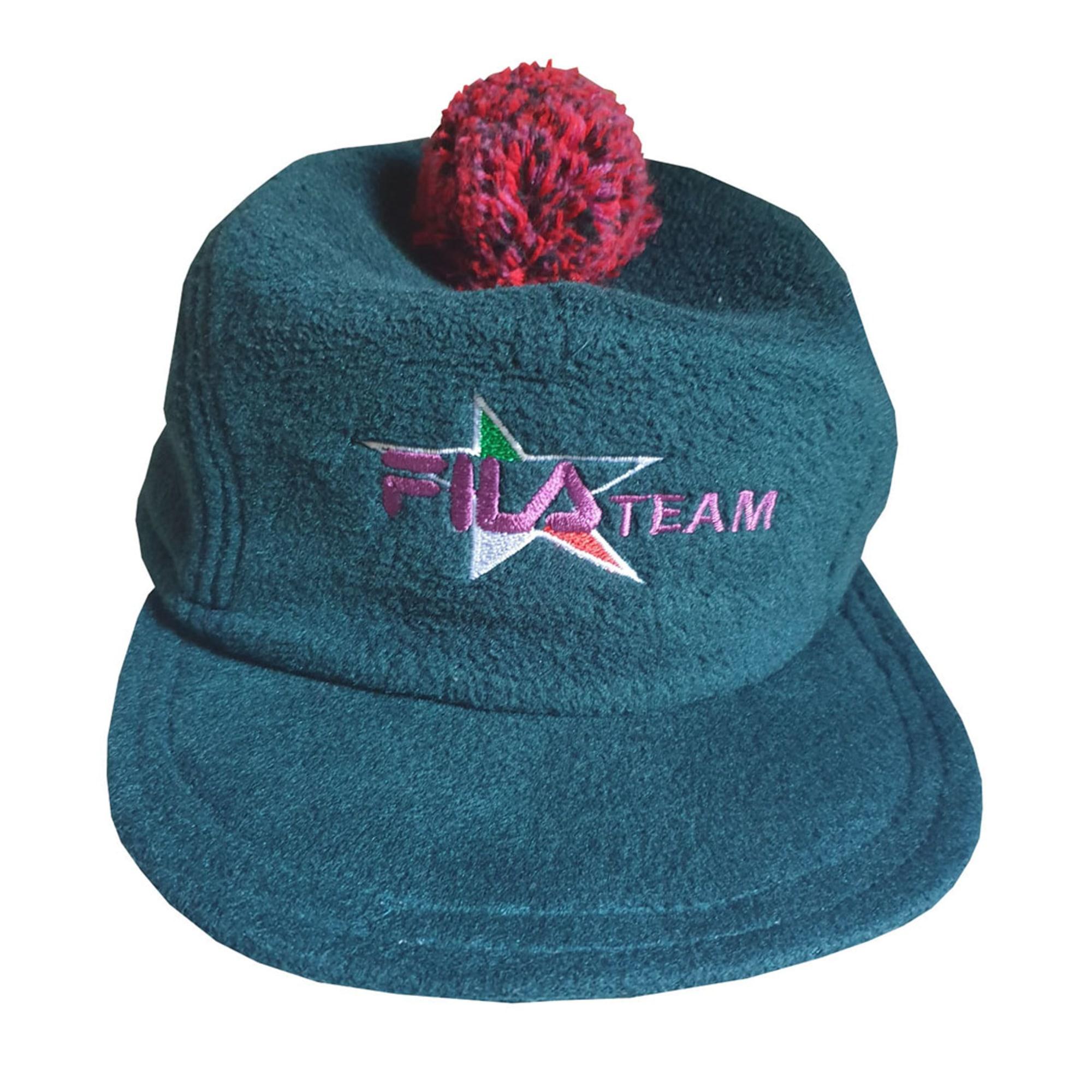 Chapeau FILA Vert