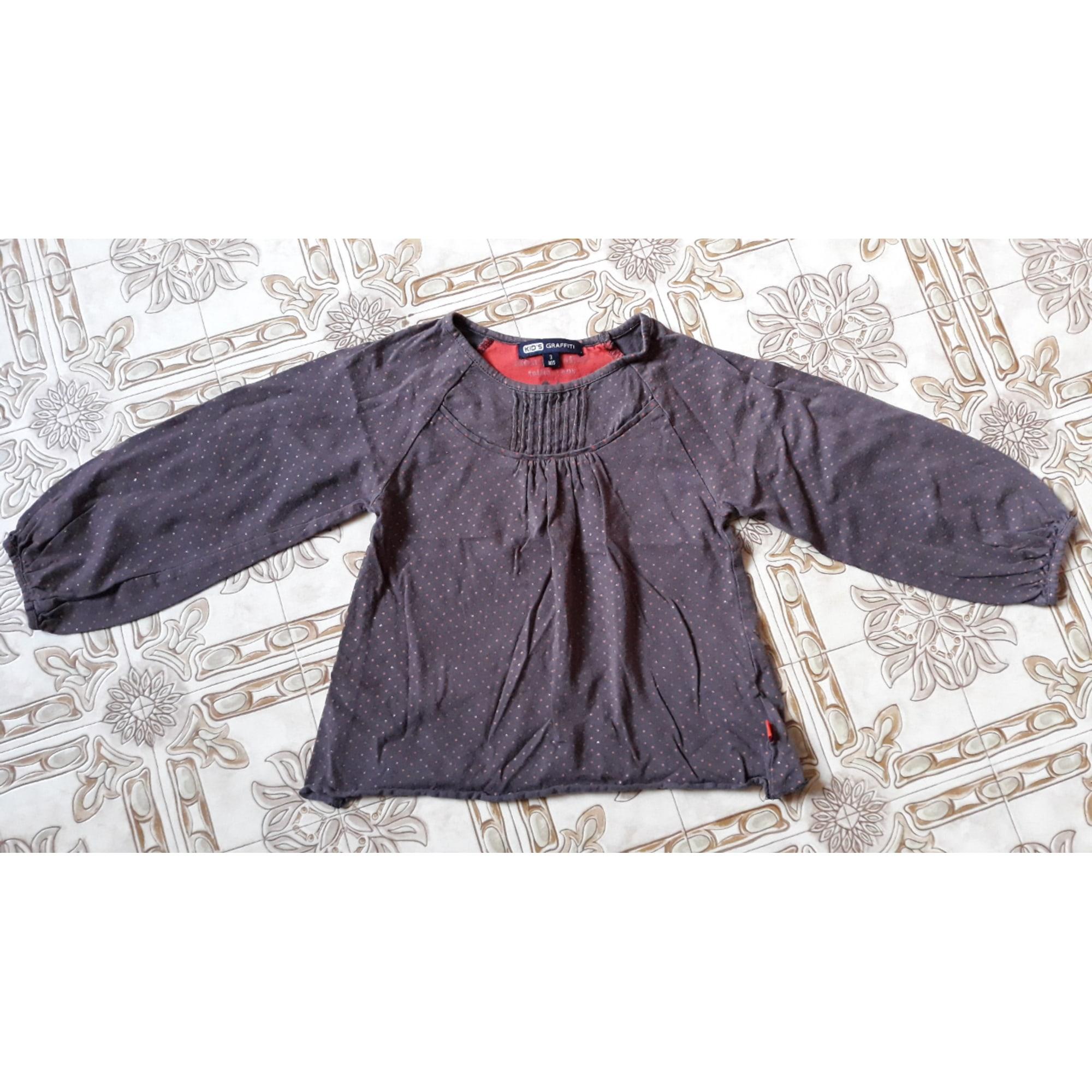 Top, Tee-shirt KID'S GRAFFITI Multicouleur