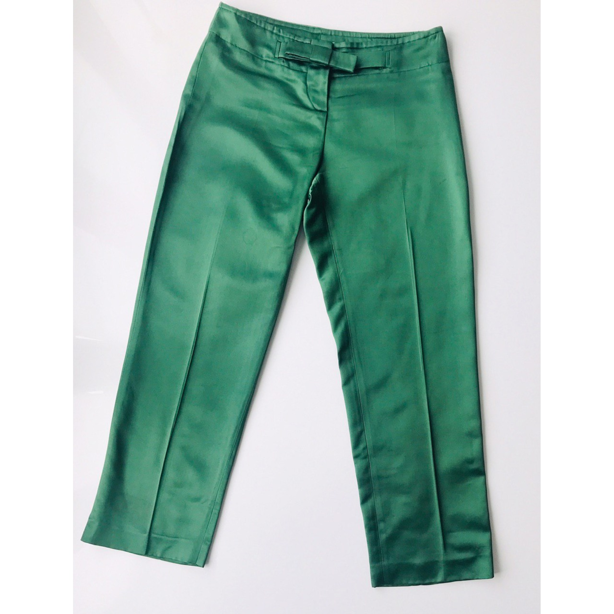 Pantalon droit DIOR Vert