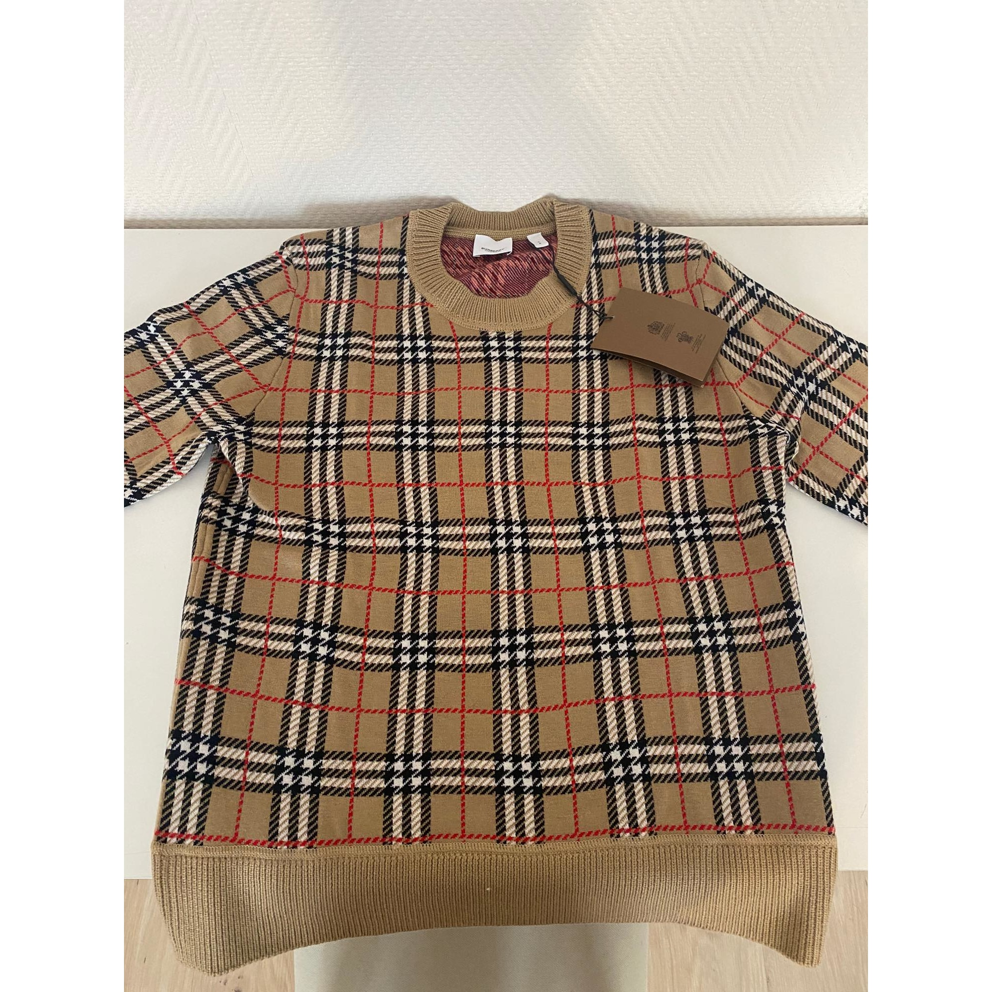 Sweat BURBERRY Beige, camel