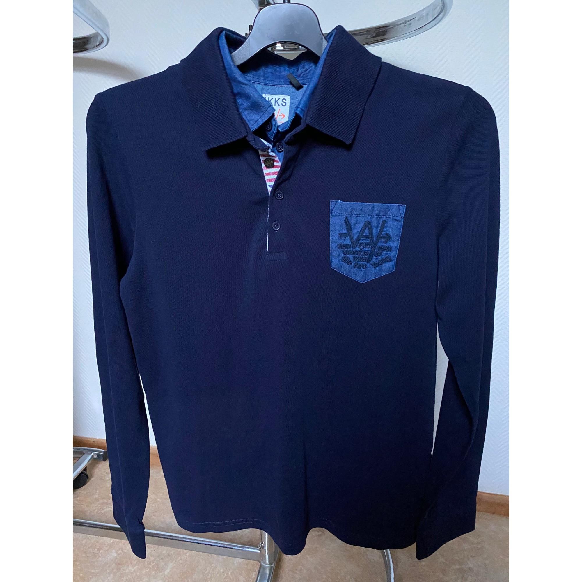 Polo IKKS Bleu, bleu marine, bleu turquoise