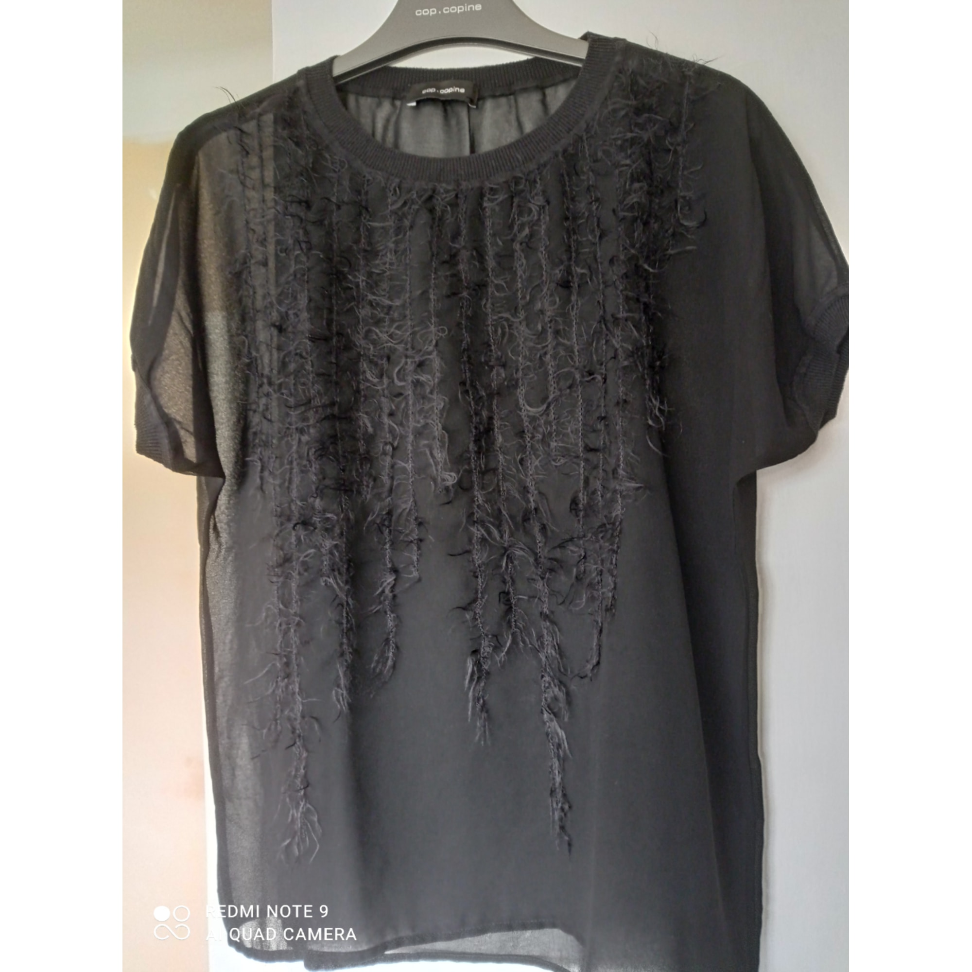 Top, tee-shirt COP-COPINE Noir