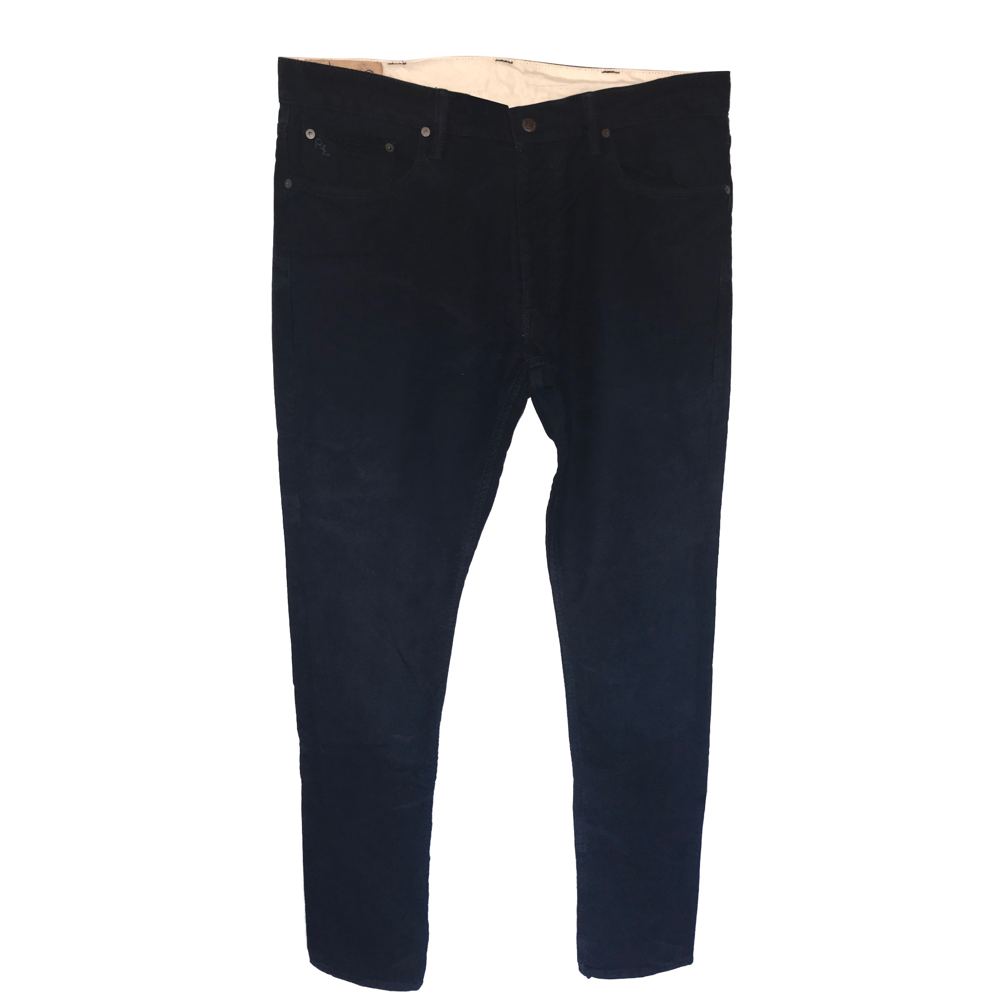 Pantalon slim RALPH LAUREN Bleu, bleu marine, bleu turquoise