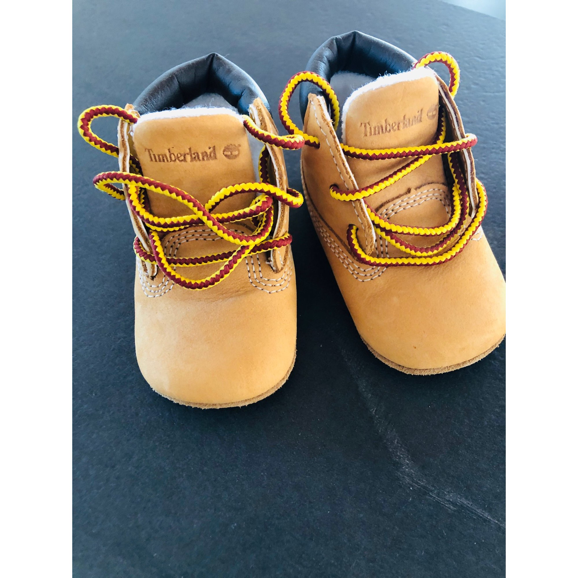 Lace Up Shoes TIMBERLAND Beige, camel