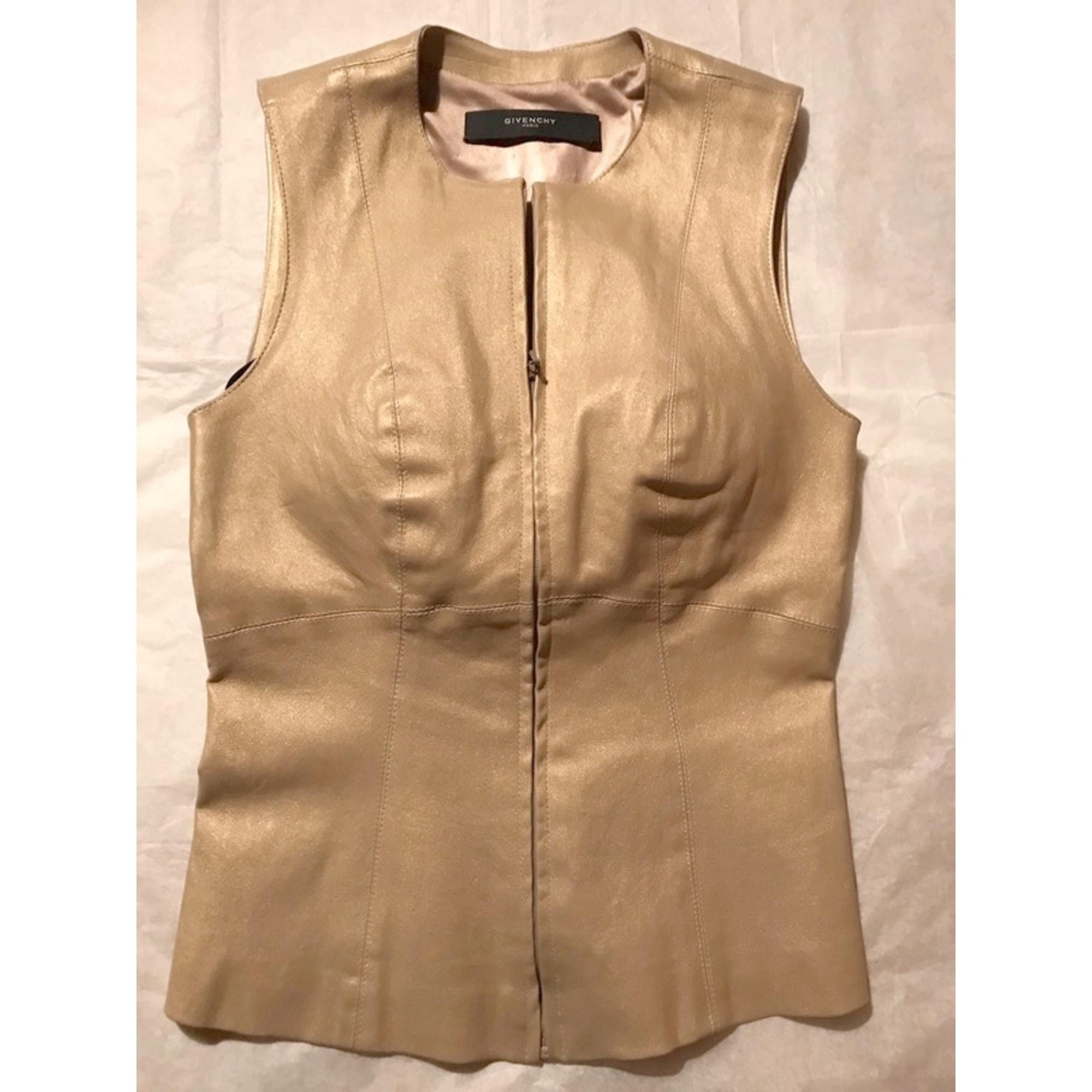 Top, tee-shirt GIVENCHY Doré, bronze, cuivre