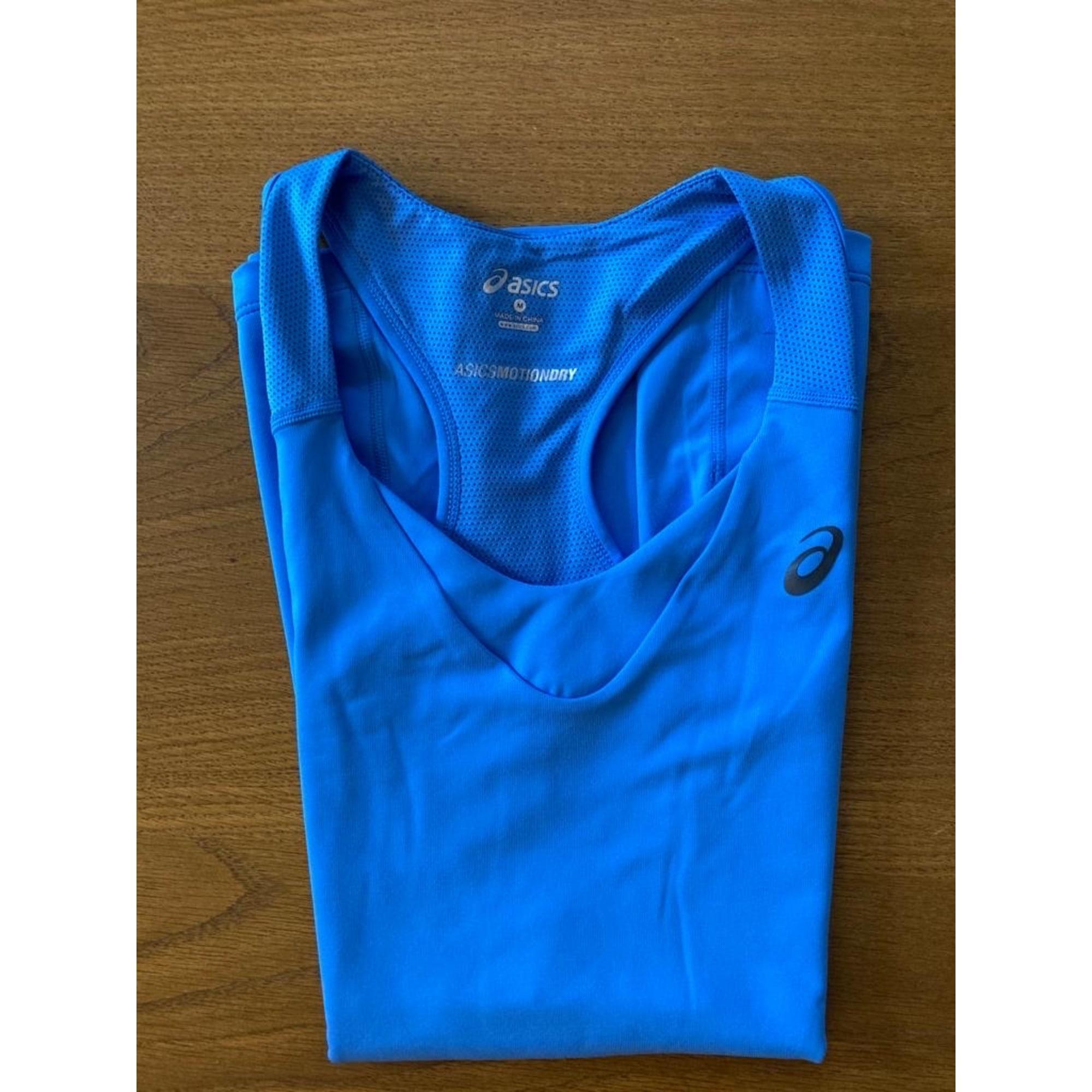 Débardeur ASICS Bleu, bleu marine, bleu turquoise