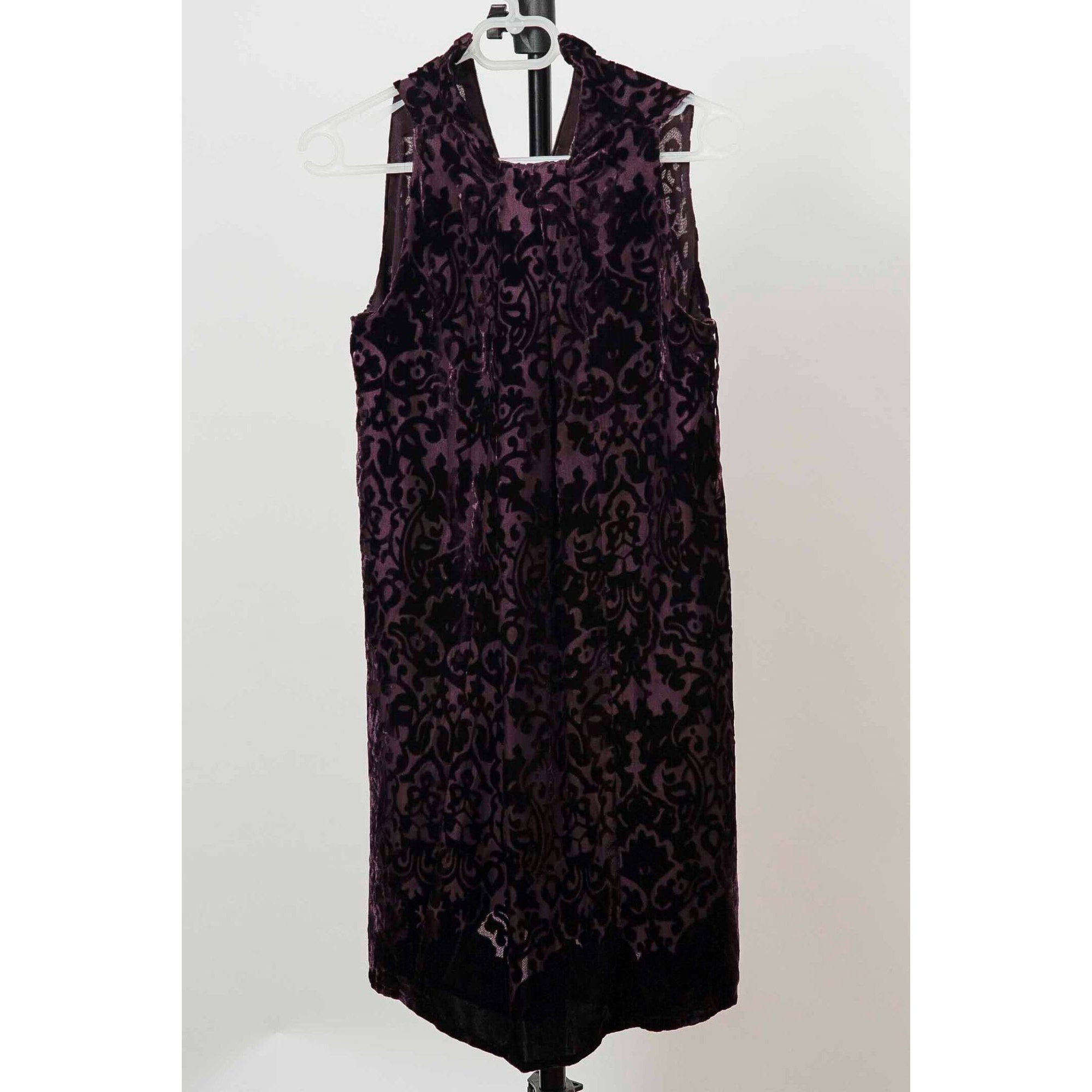 Robe courte MANGO Violet, mauve, lavande