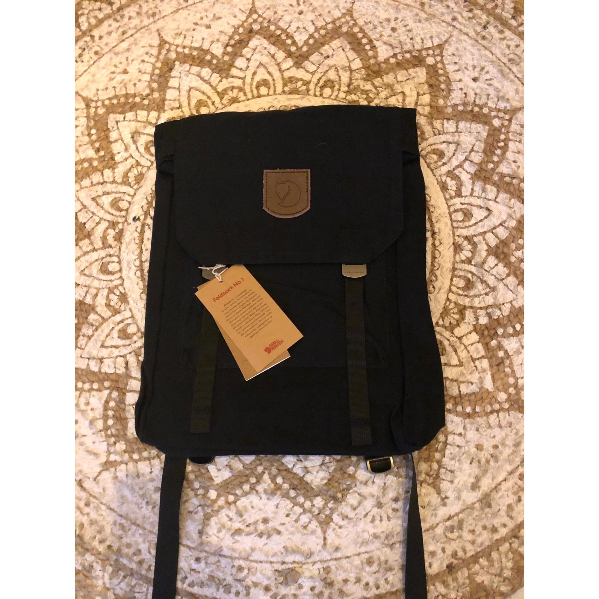 Backpack FJÄLLRÄVEN Black