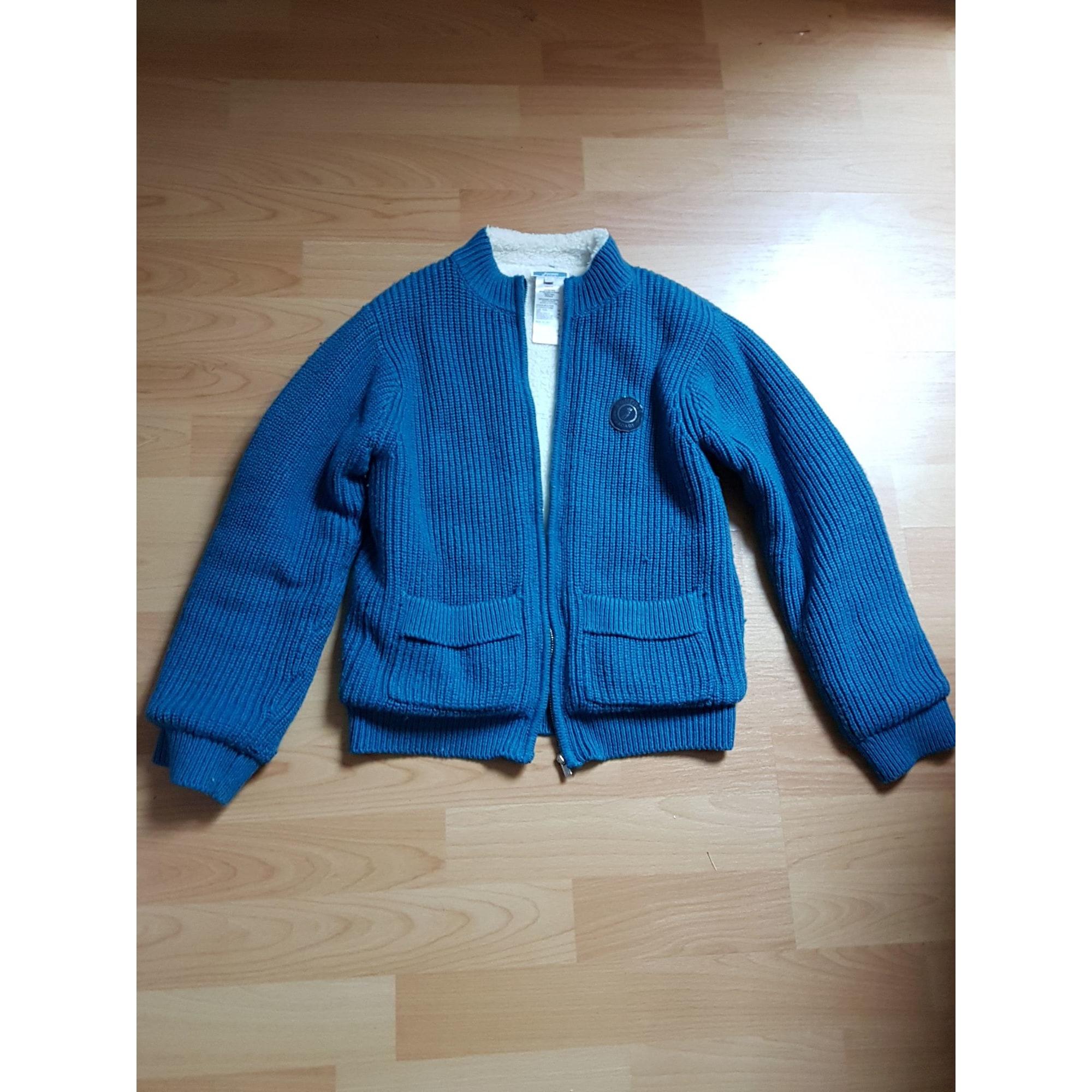 Vest, Cardigan JACADI Blue, navy, turquoise