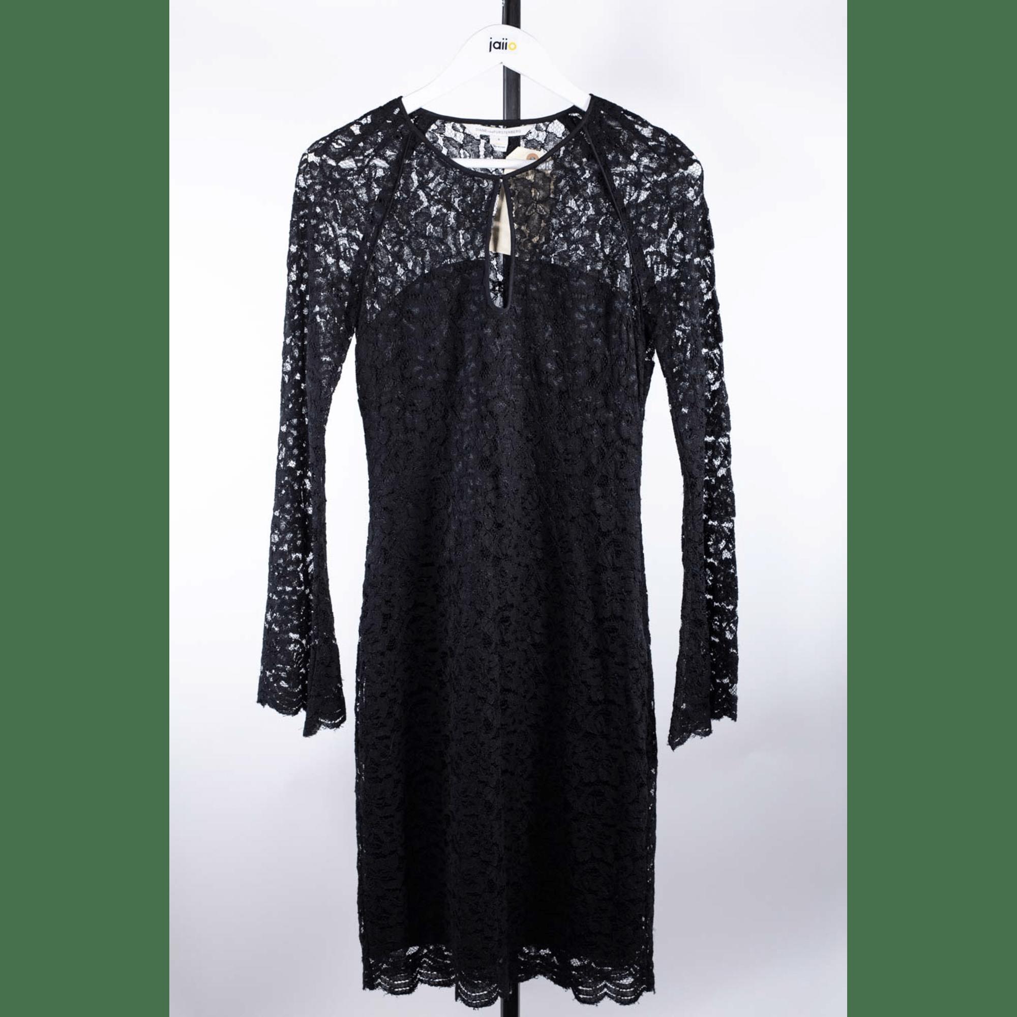 Robe mi-longue DIANE VON FURSTENBERG Noir