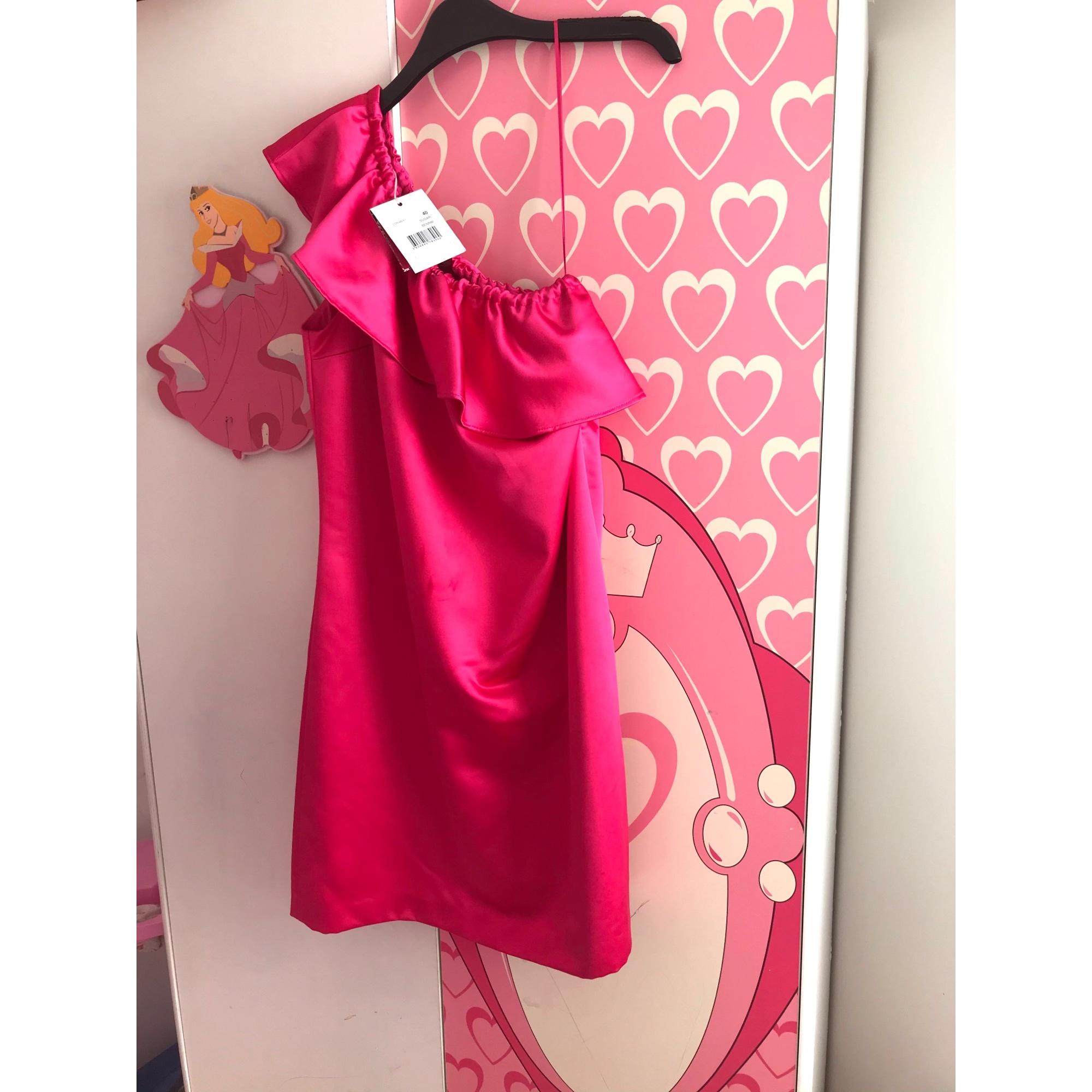 Robe courte NAF NAF Rose, fuschia, vieux rose