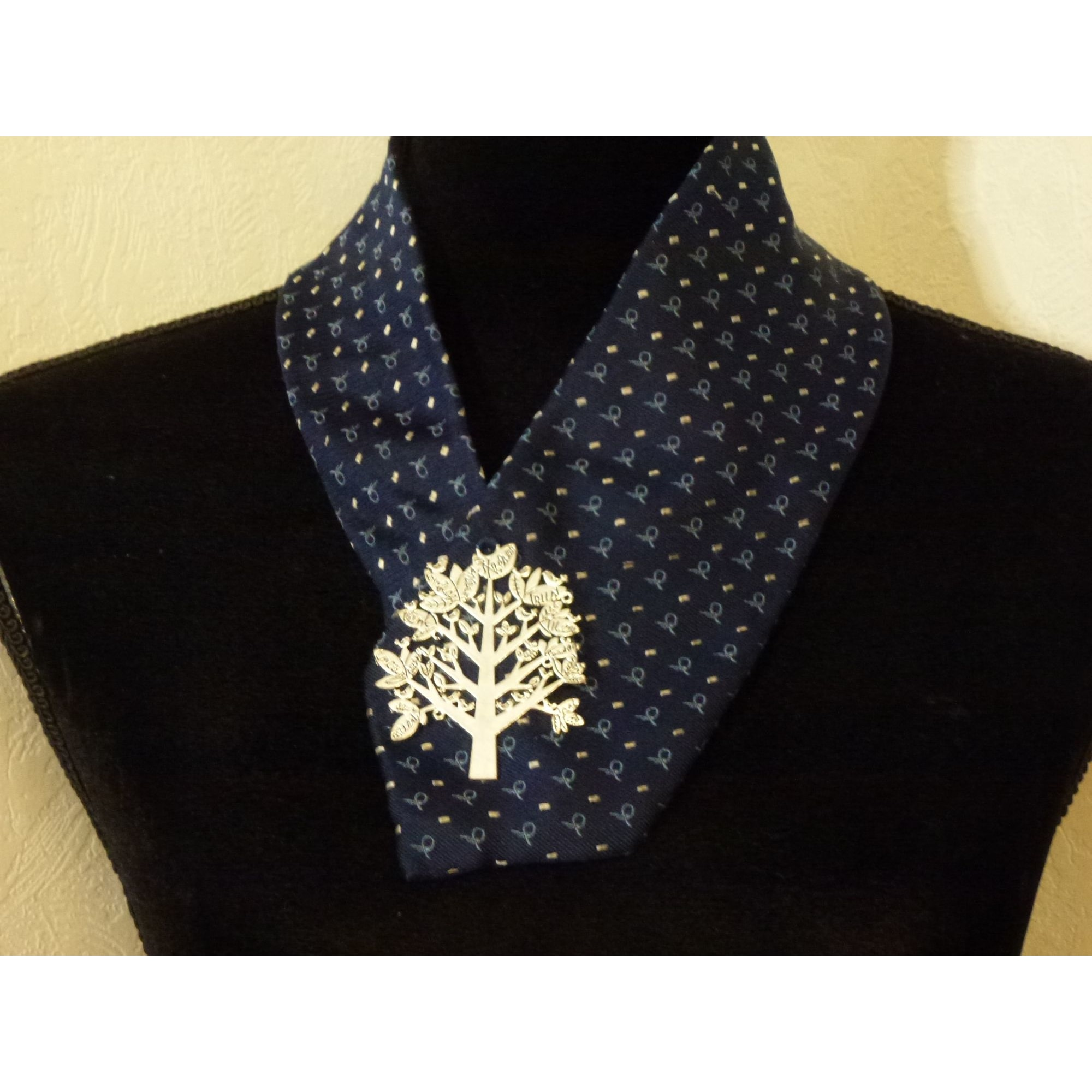 Tie MARQUE INCONNUE Blue, navy, turquoise