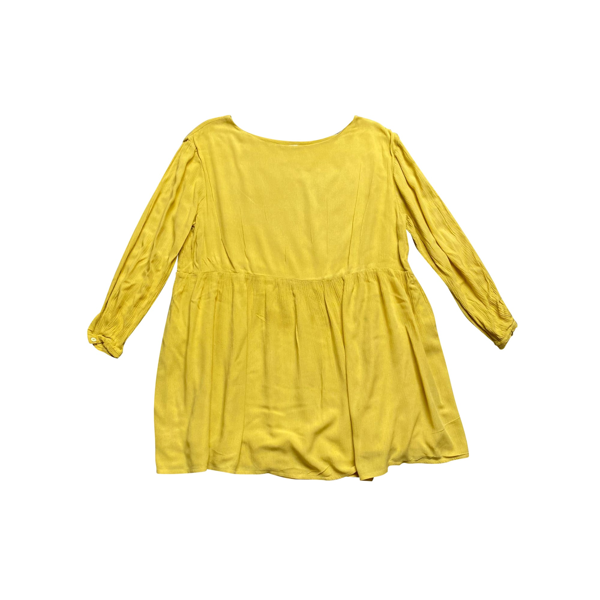 Robe courte AMERICAN VINTAGE Jaune