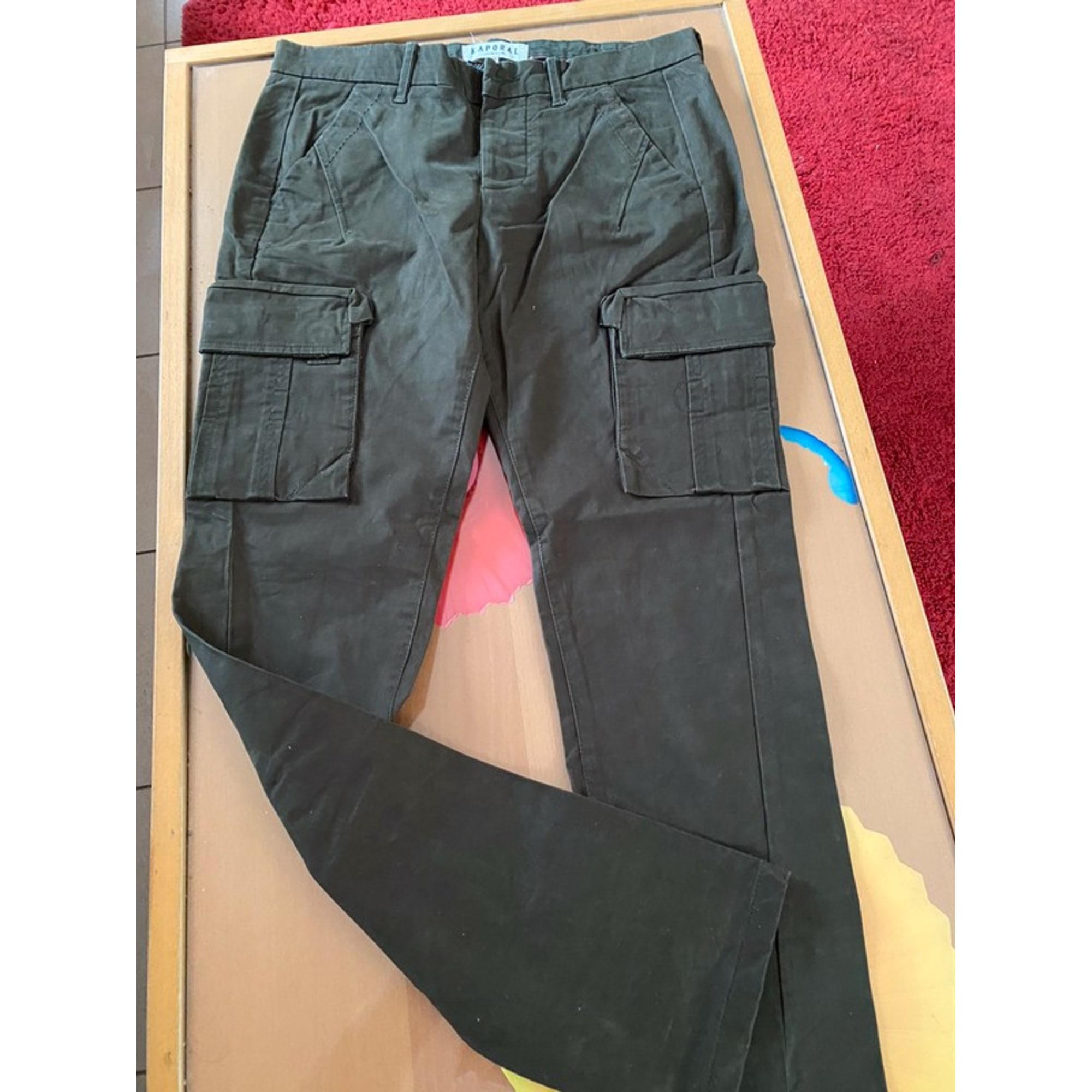 Pantalon droit KAPORAL Kaki
