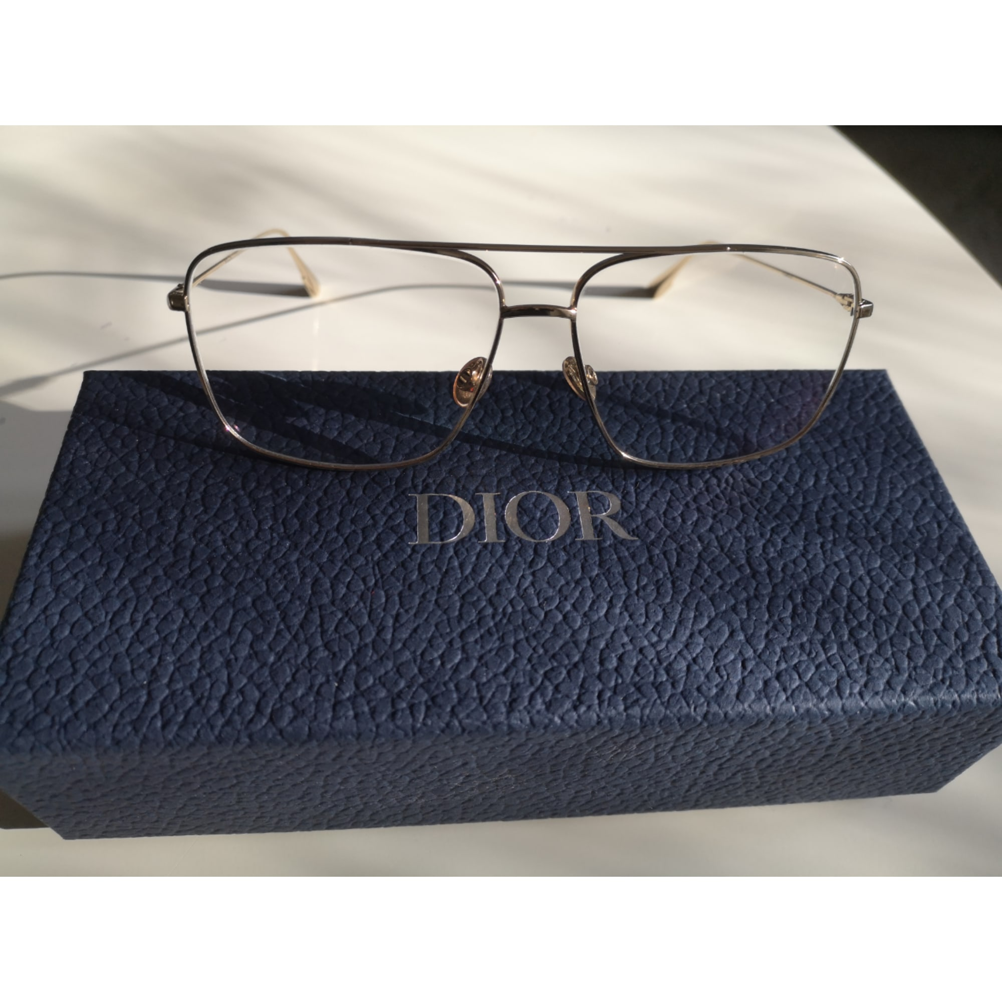 Eyeglass Frames DIOR Golden, bronze, copper