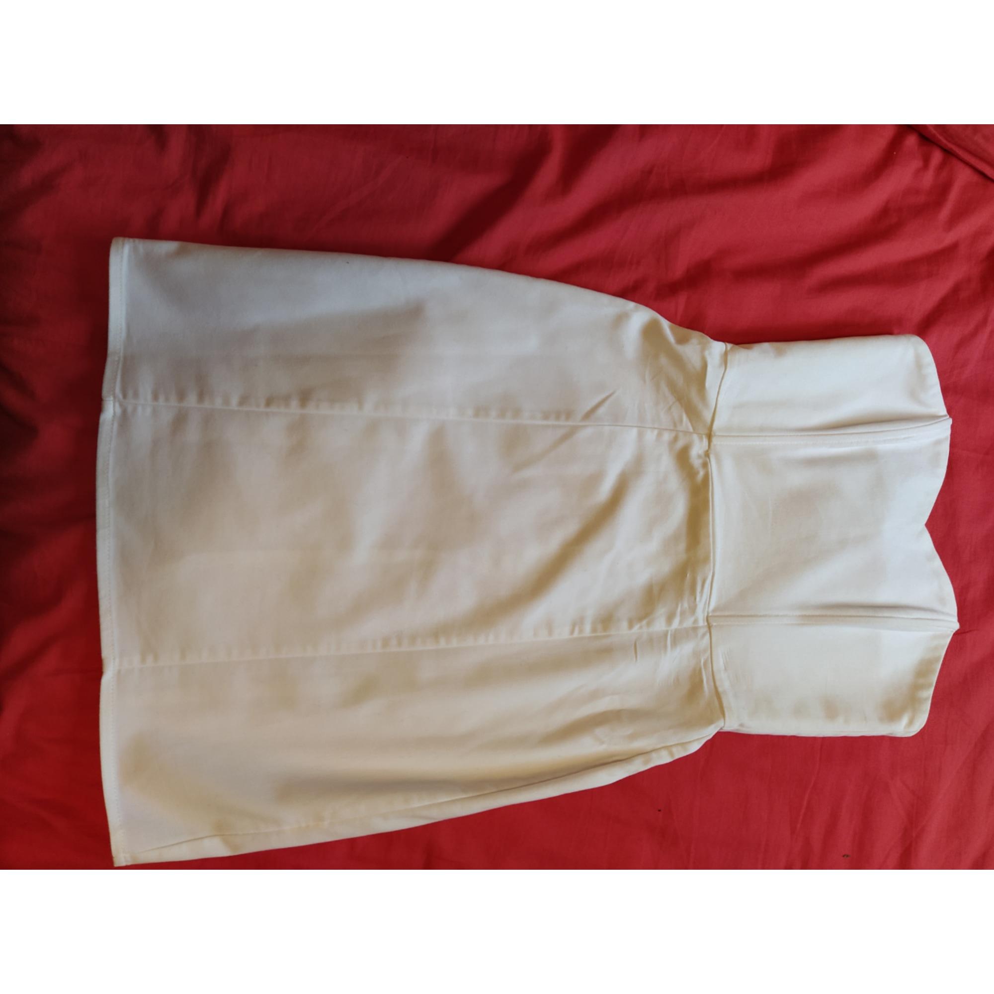 Robe bustier MARQUE INCONNUE Blanc, blanc cassé, écru