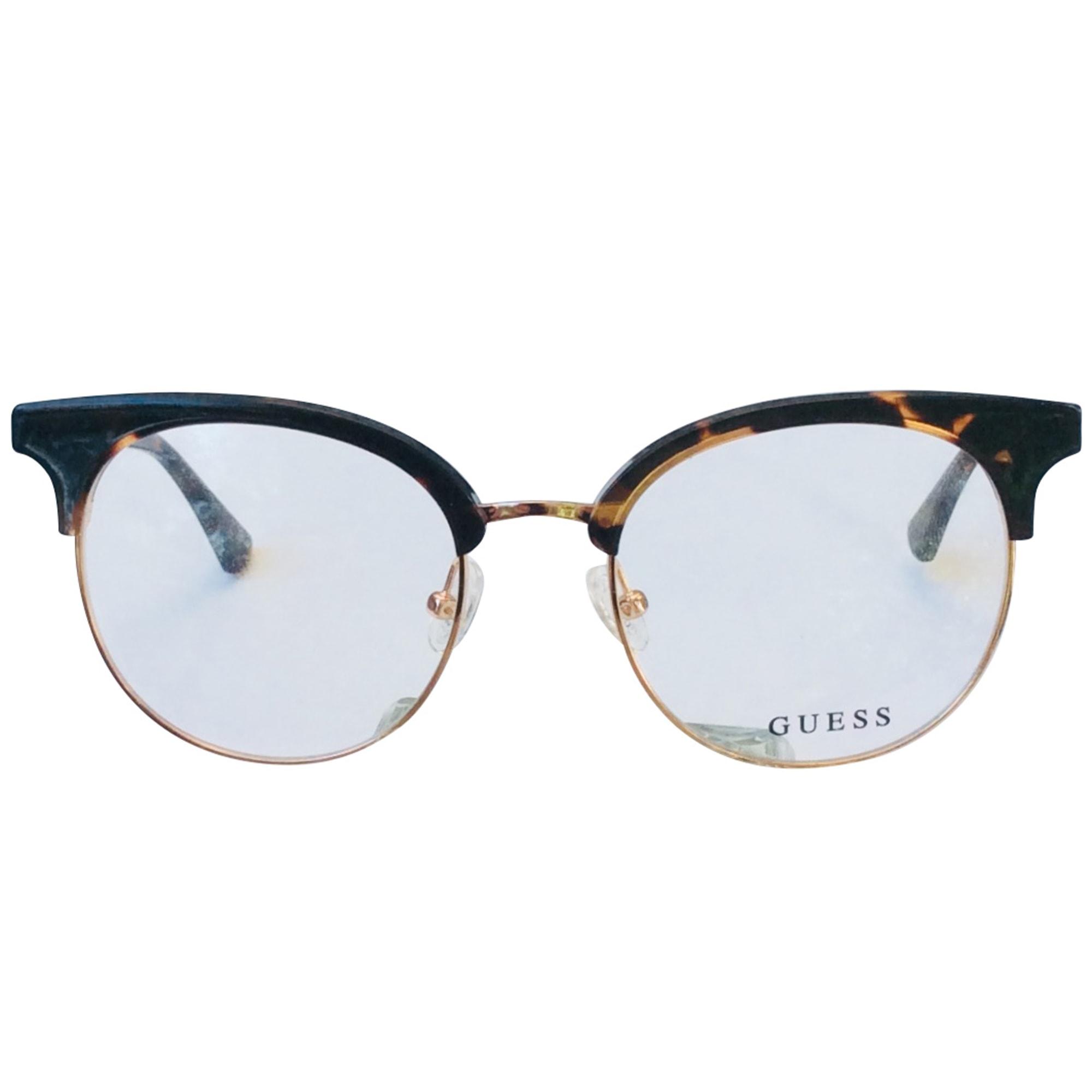 Monture de lunettes GUESS Doré, bronze, cuivre