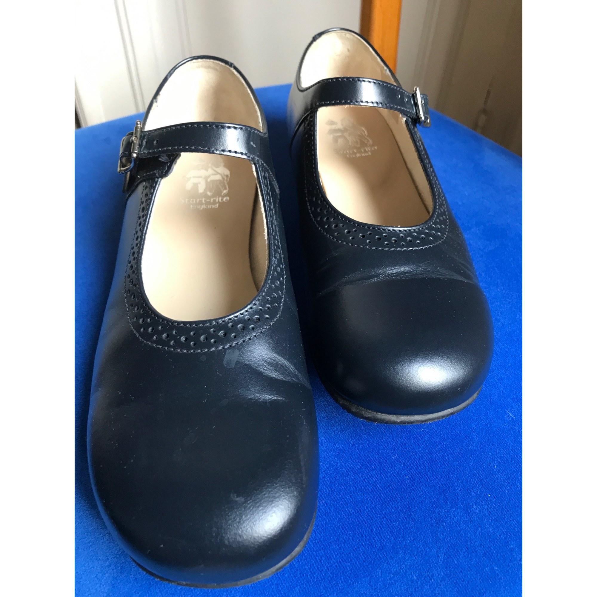 Chaussures à boucle START RITE Bleu, bleu marine, bleu turquoise