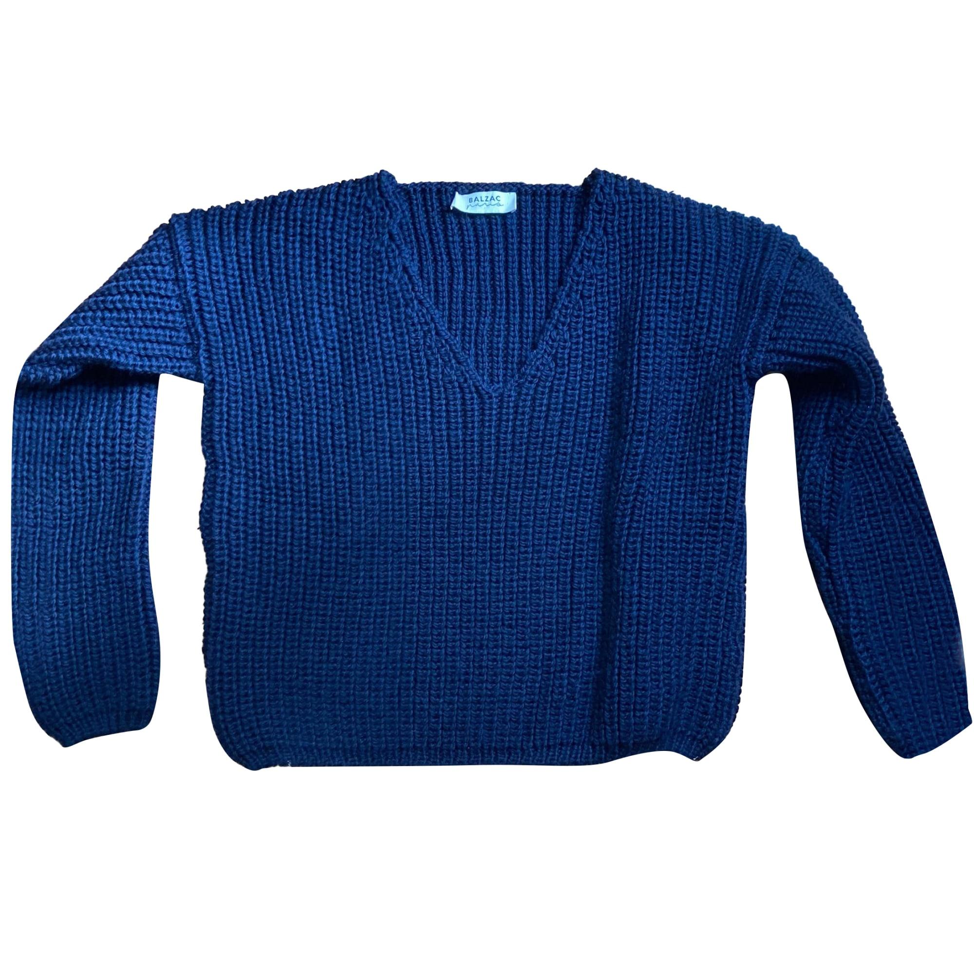 Pull BALZAC PARIS Bleu, bleu marine, bleu turquoise