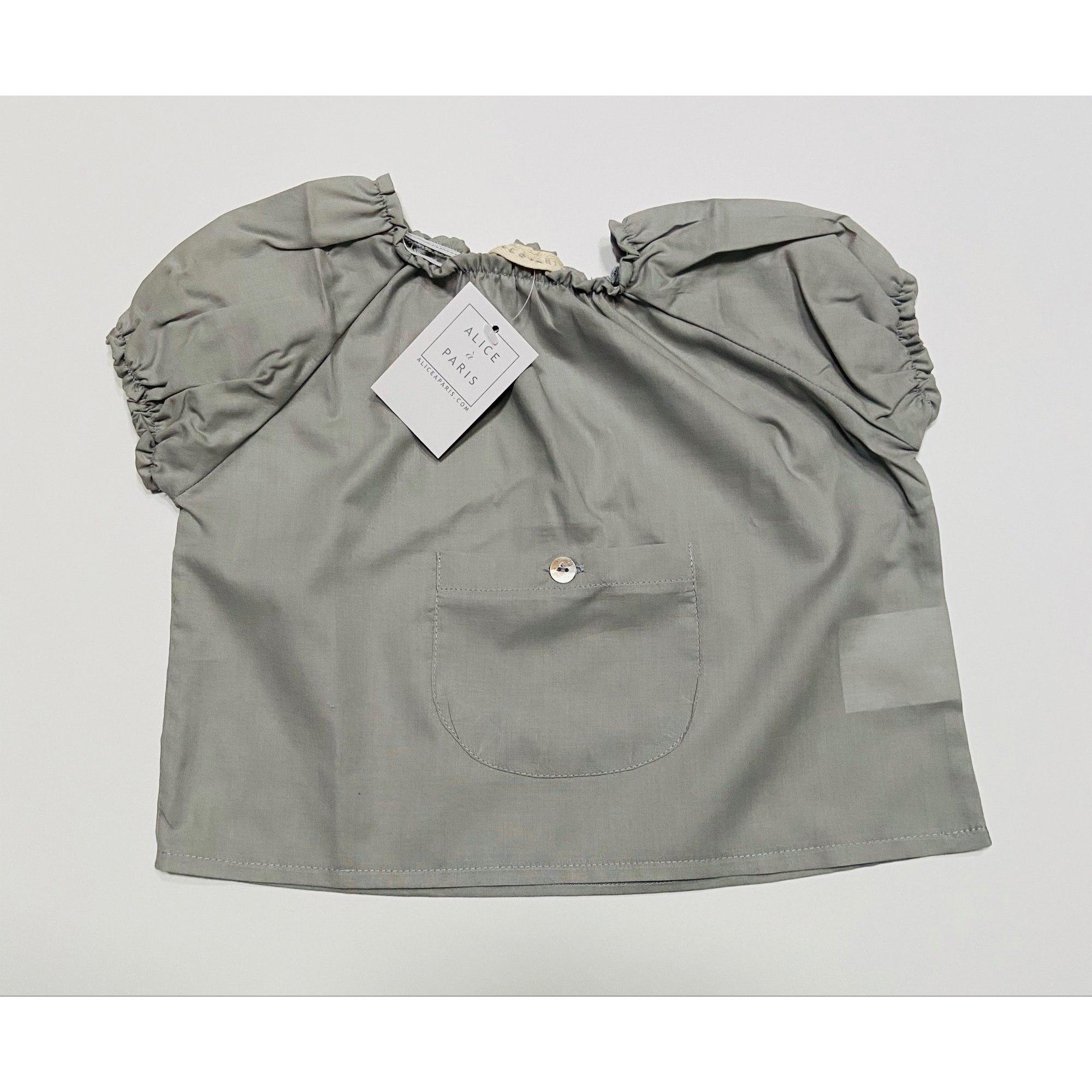Top, tee shirt ALICE A PARIS Gris, anthracite