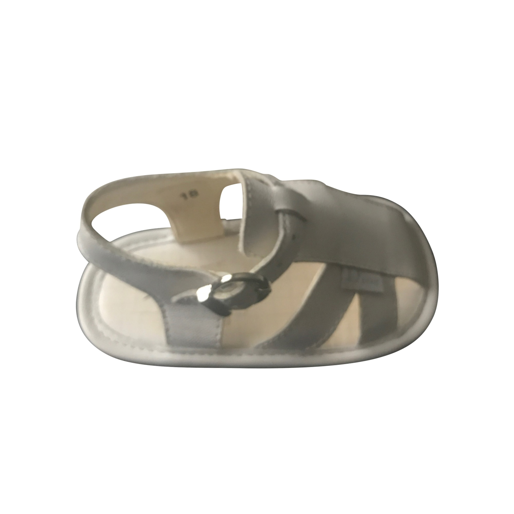 Buckle Shoes BABY DIOR White, off-white, ecru