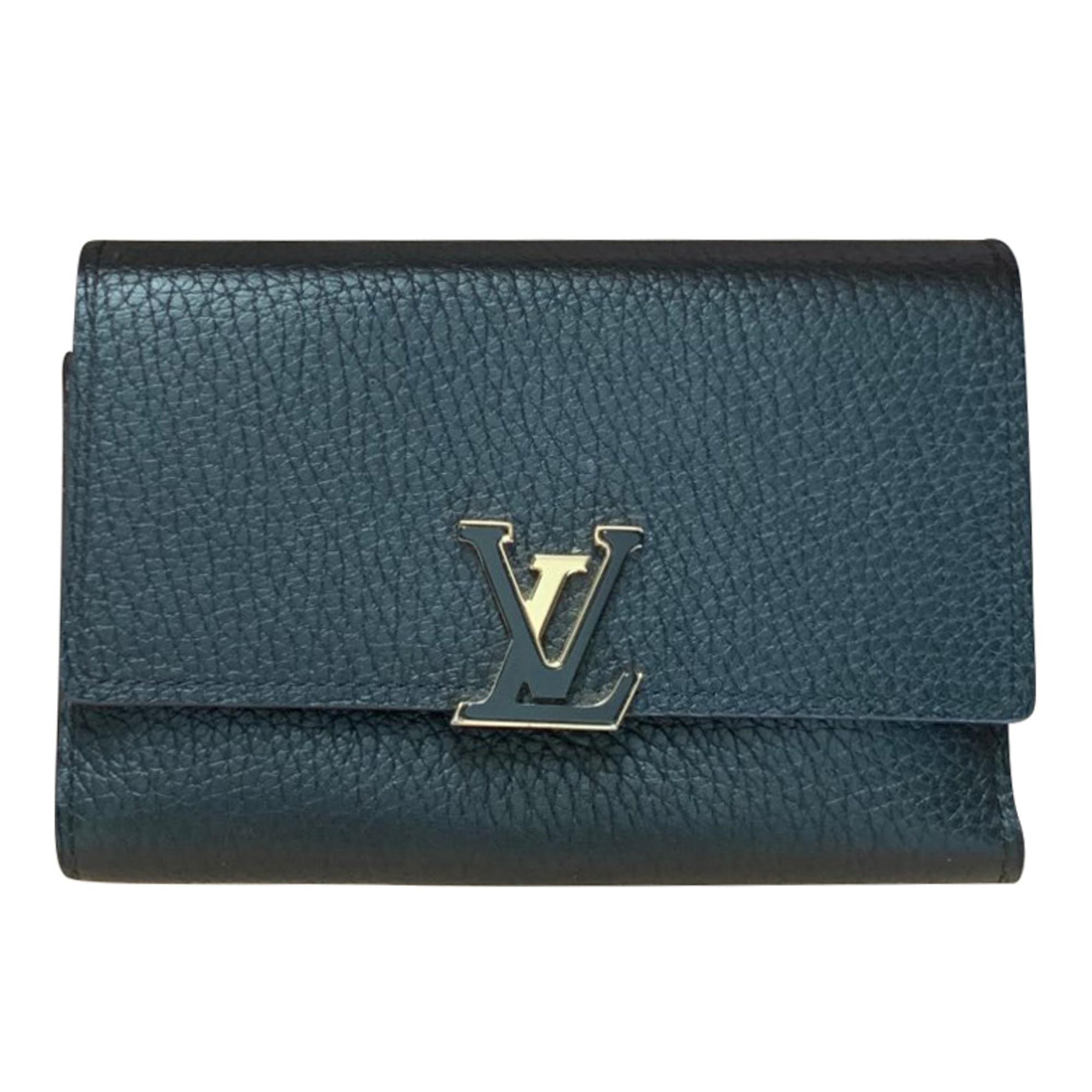 Wallet LOUIS VUITTON Capucines Black