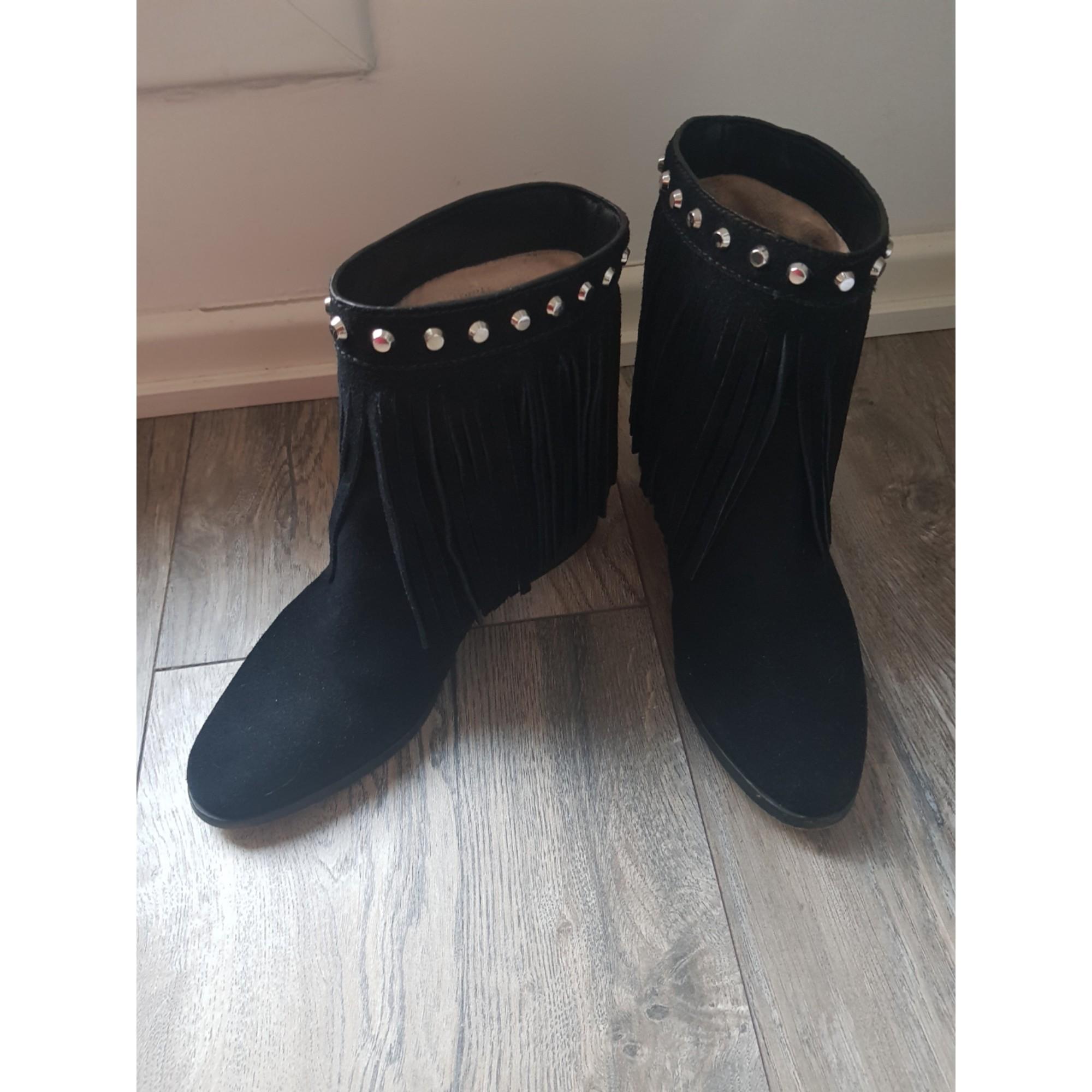 Cowboy Ankle Boots MICHAEL KORS Black
