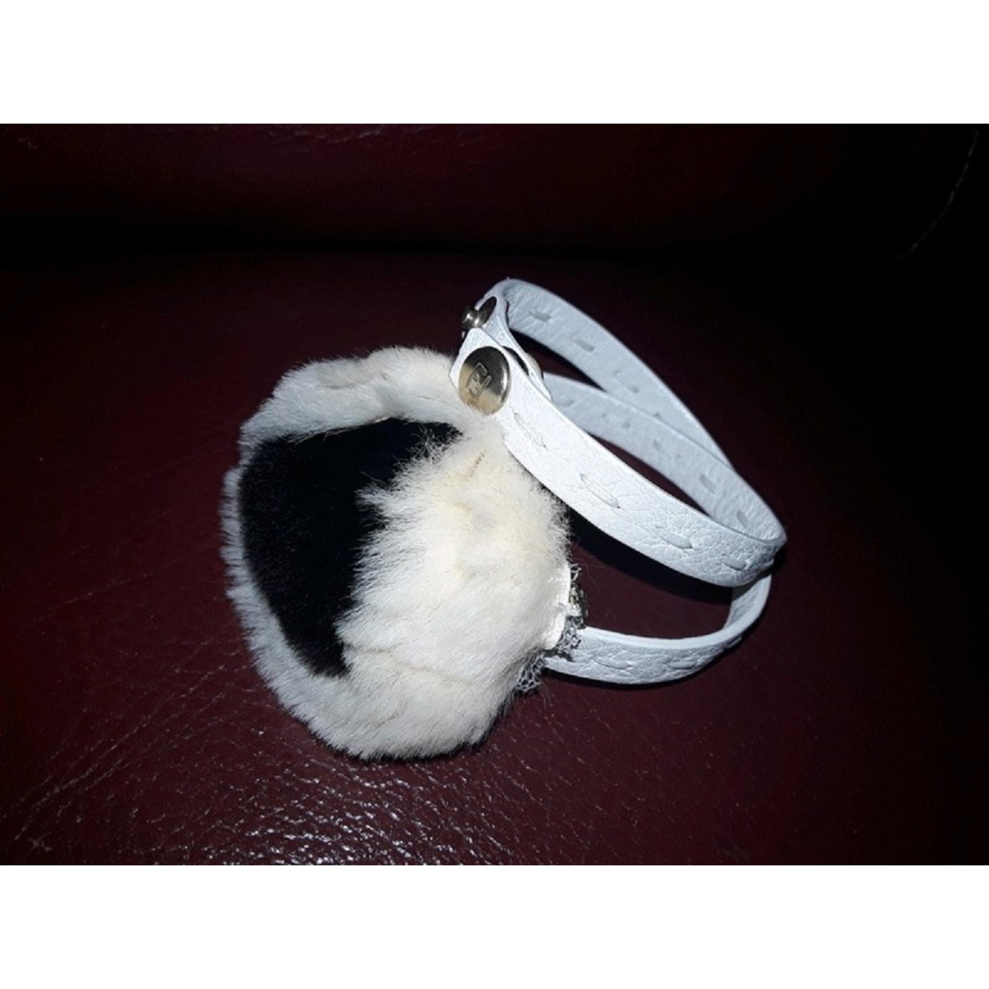 Bracelet FENDI Blanc, blanc cassé, écru